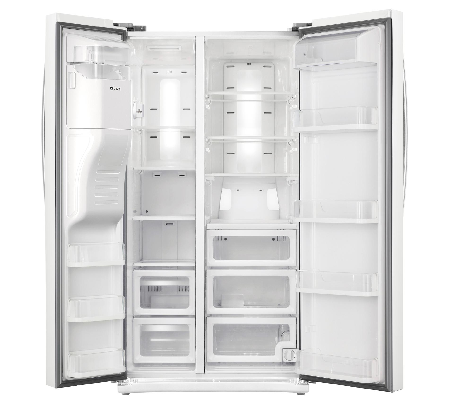 Samsung 24.5 cu. ft. Side-by-Side Refrigerator - White