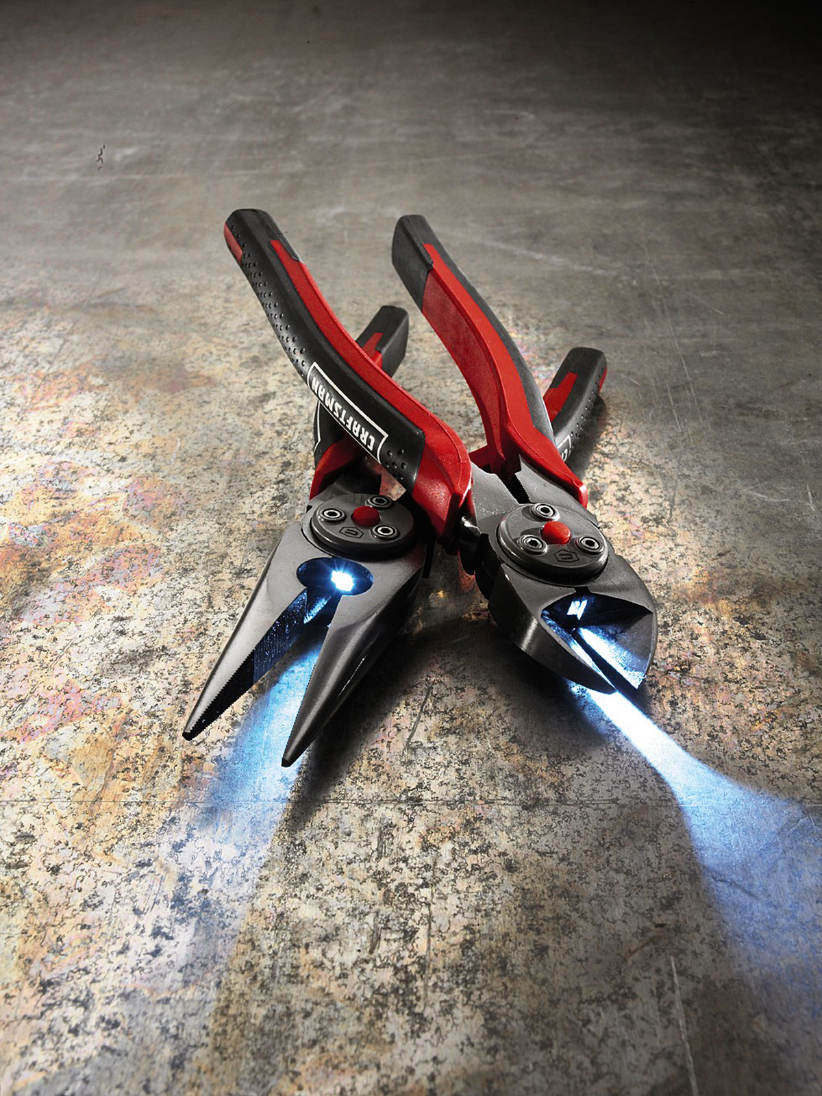Craftsman 8-in. LED Lighted Long Nose & Diagonal Pliers Set