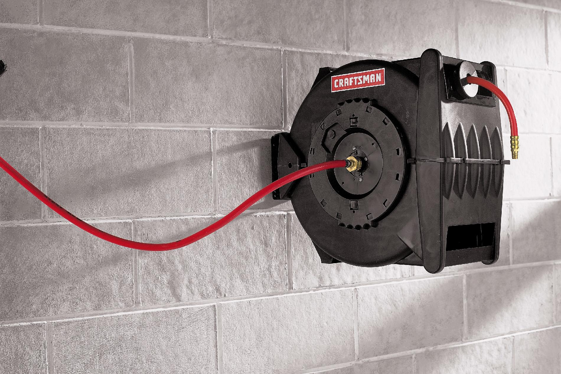 Craftsman Levelwind™  Hose Reel, Retractable 3/8 in. x 50 ft.