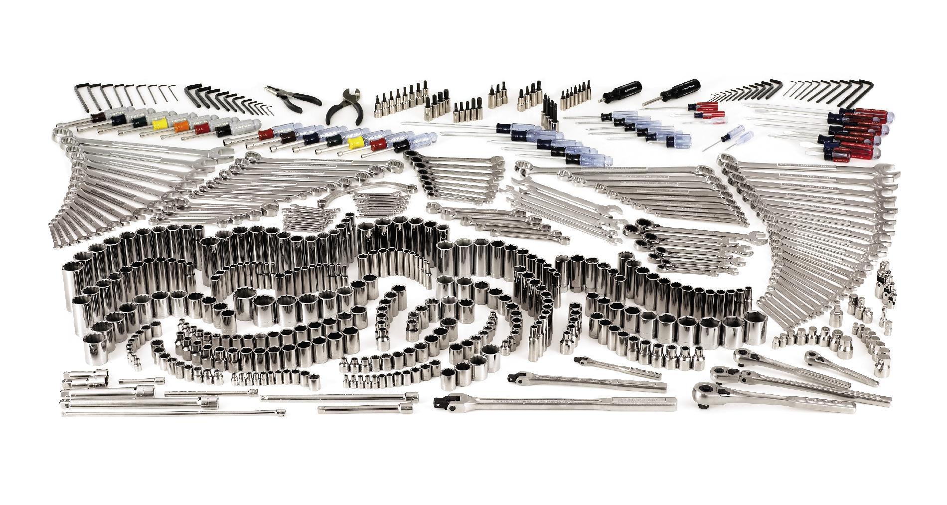 Craftsman 540-Piece Mechanics Tool Set