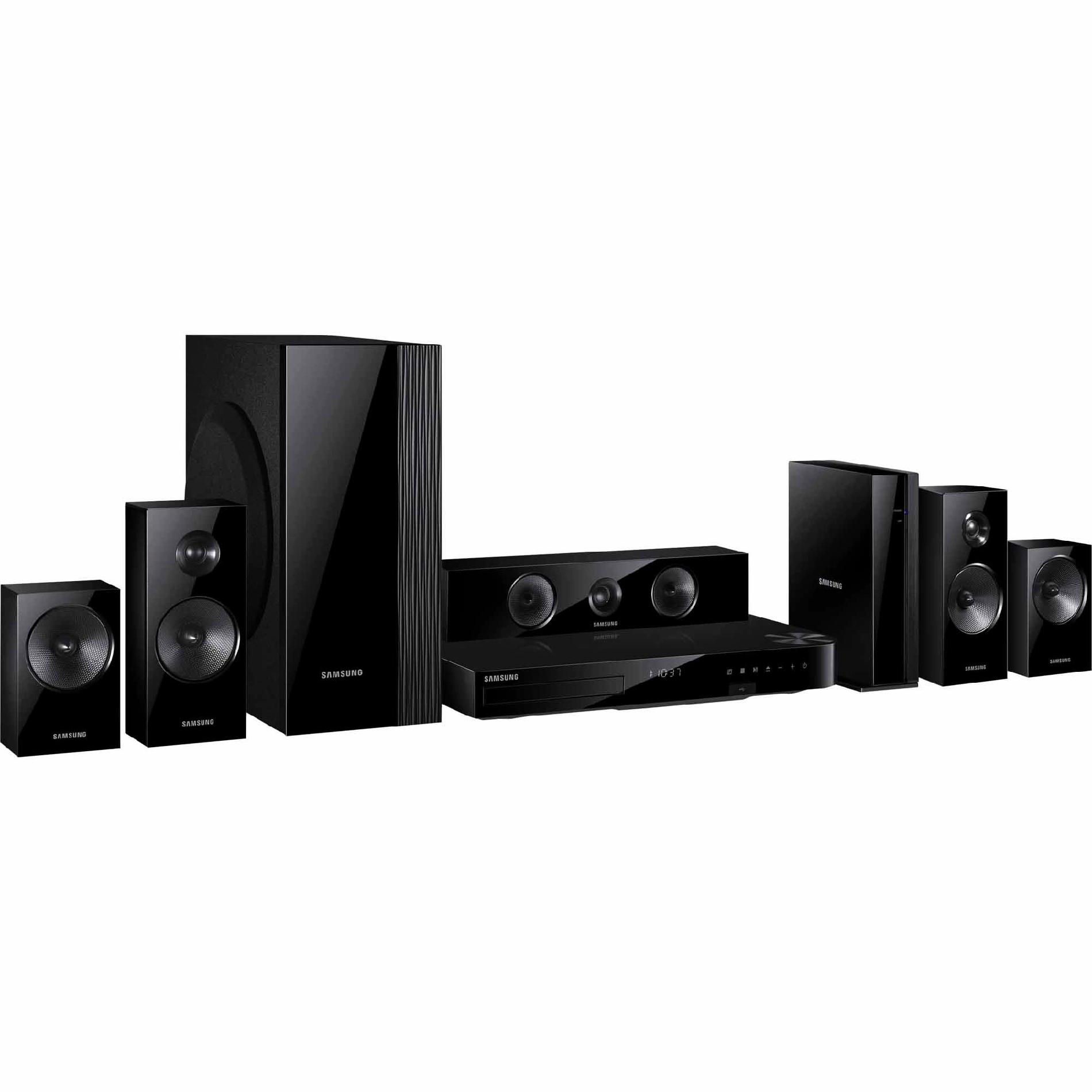 Samsung 5.1 Channel 1000W Home Theater System with 3D Blu-ray and Wi-Fi - HT-H5500W