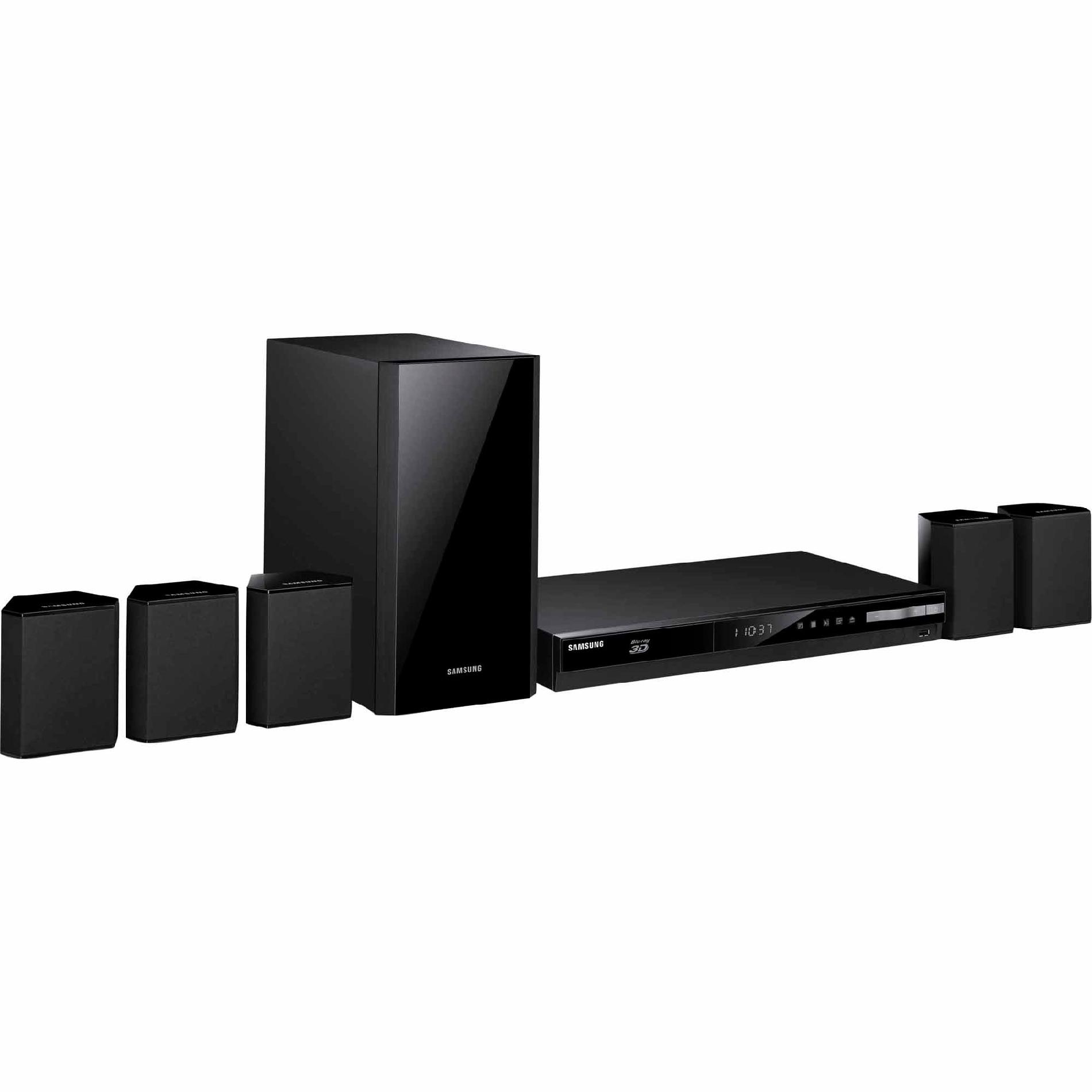 Samsung 5.1 Channel 500W Home Theater System with 3D Blu-ray - HT-H4500