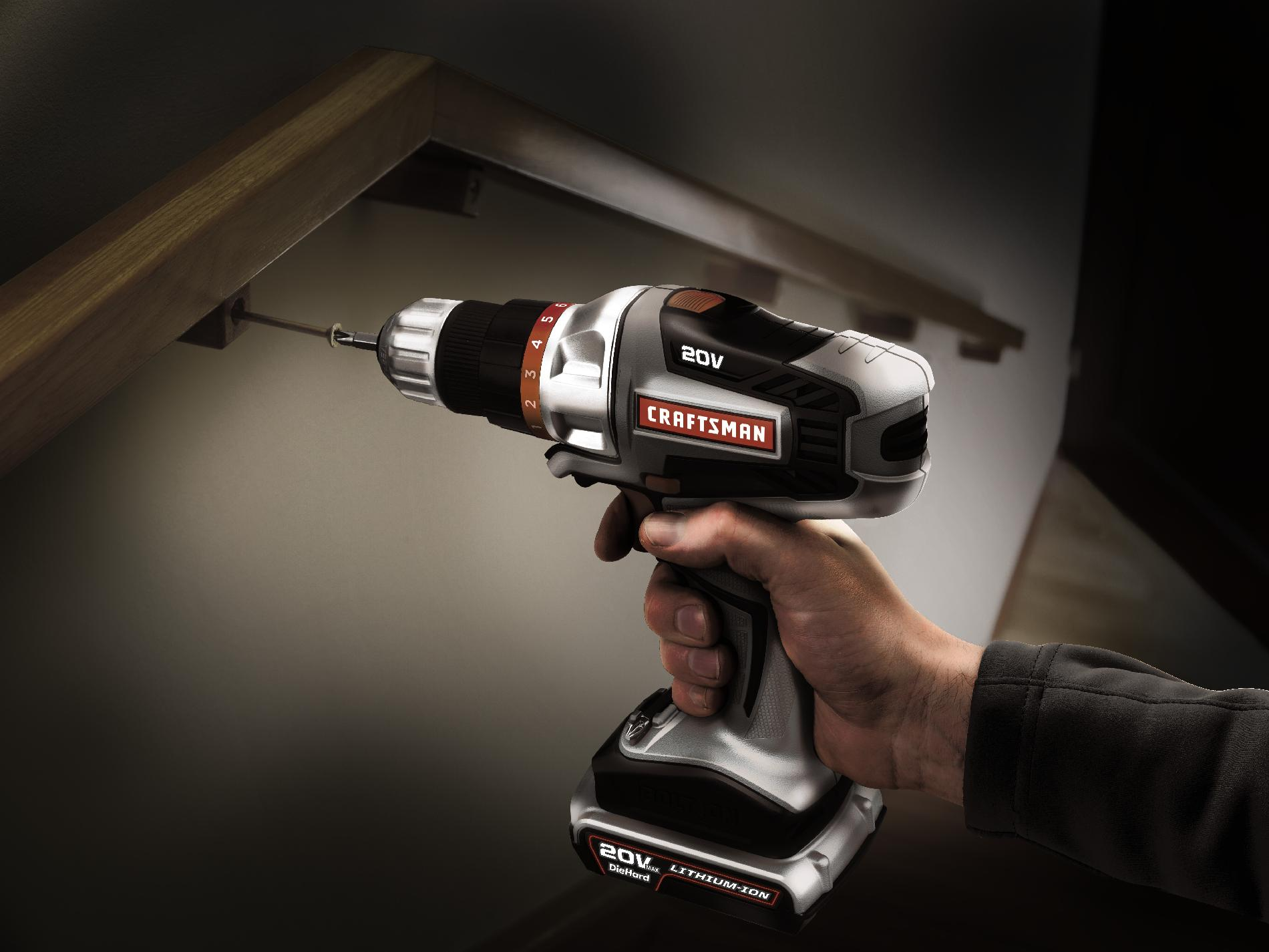 Craftsman Bolt-On™ 20V Max Lithium Ion Drill/Driver