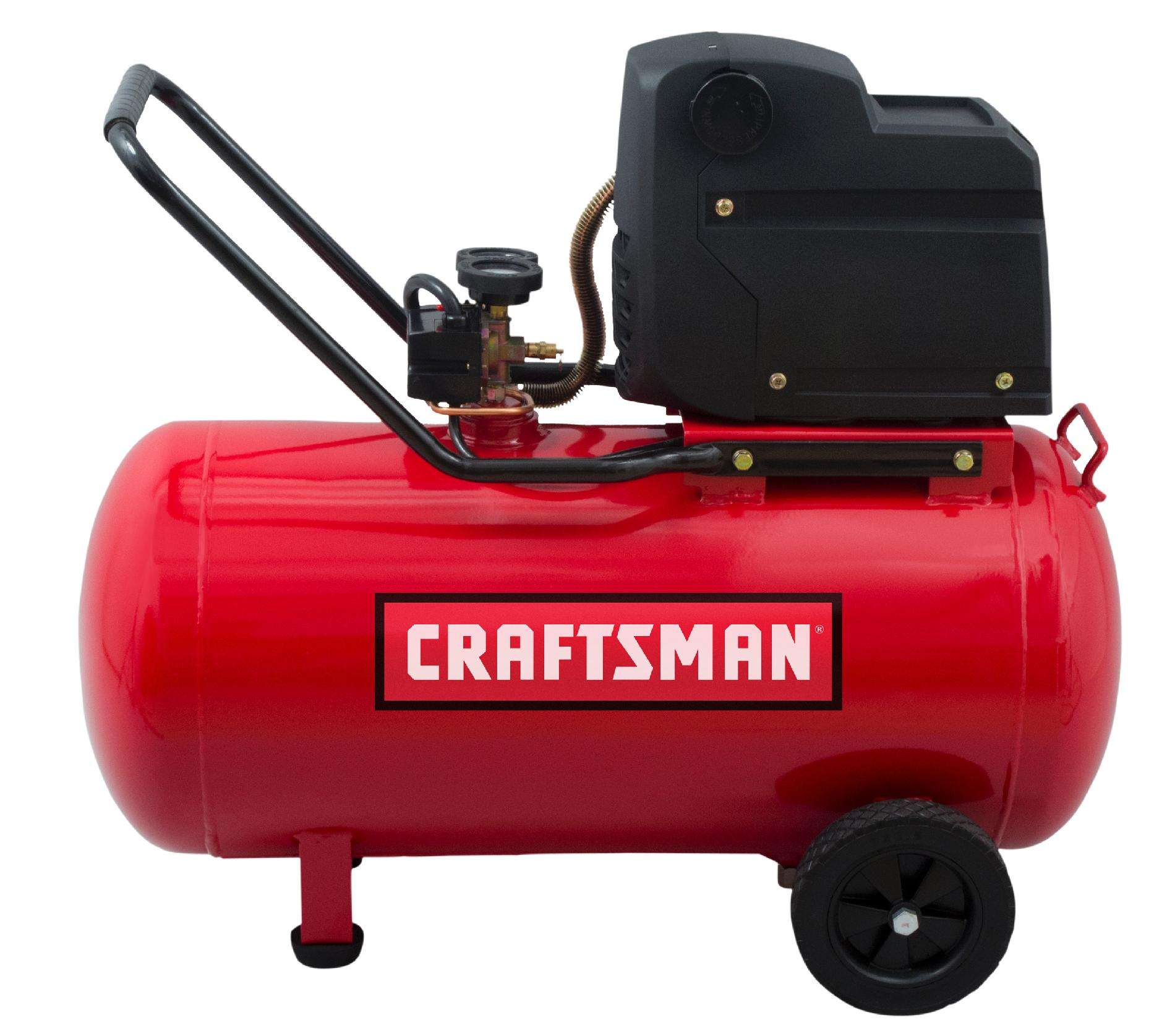 Craftsman 20 Gallon Oil-Free Portable Horizontal Air Compressor