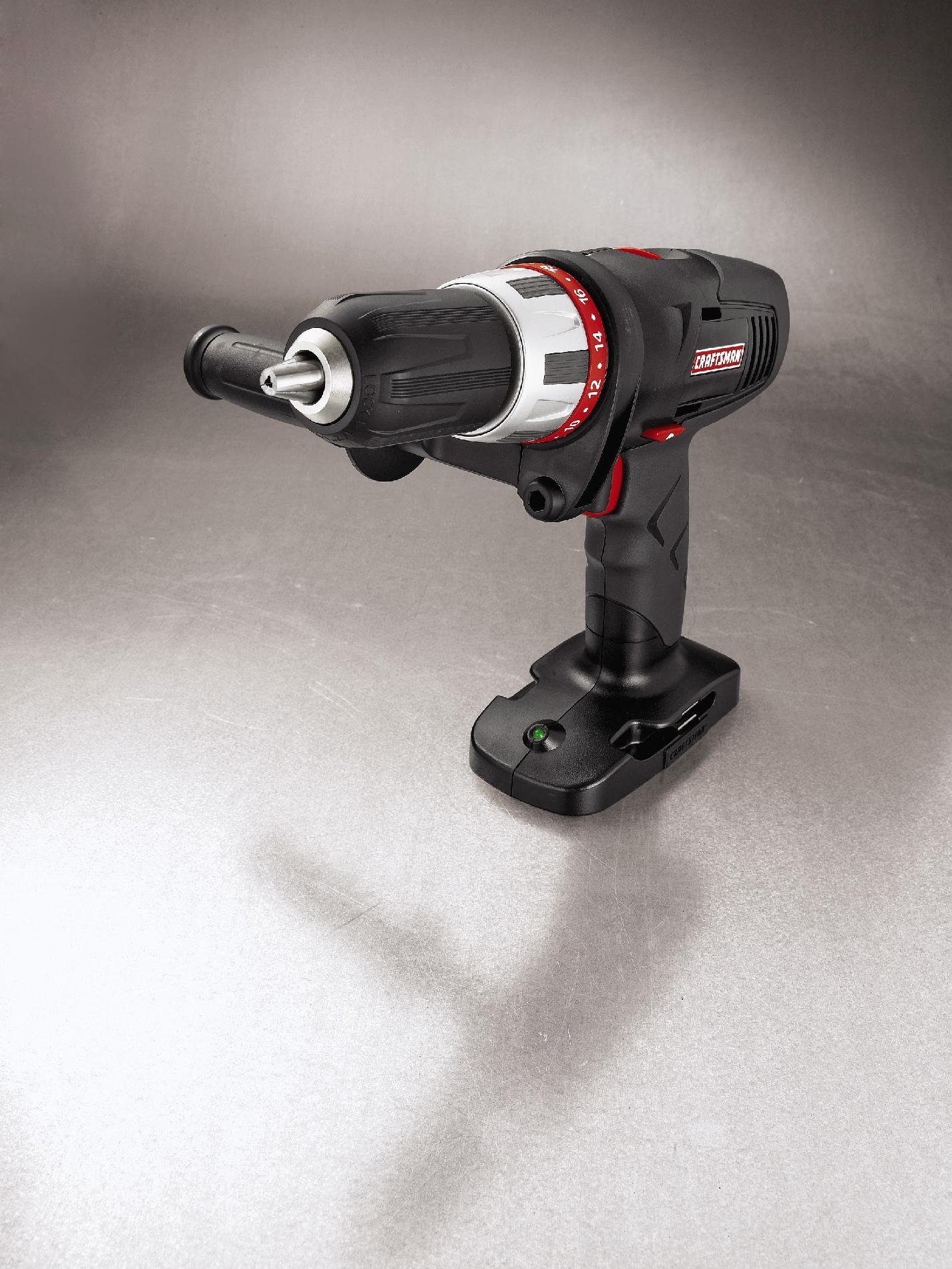 """Craftsman 11581 19.2-volt C3 Cordless 1/2"""" Drill/Driver"""