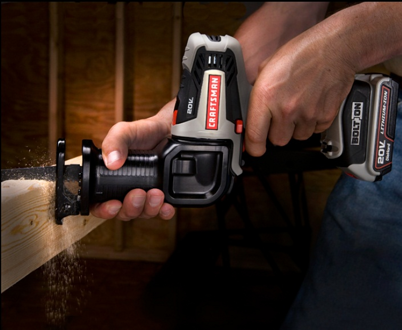 Craftsman Bolt-On ™ Reciprocating Saw Attachment