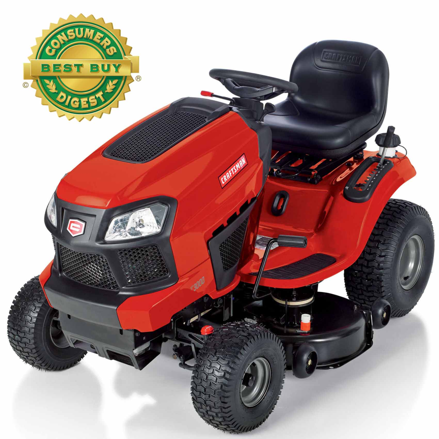 "Craftsman 22HP 42"" Turn Tight® Fast Riding Mower – 49 States"