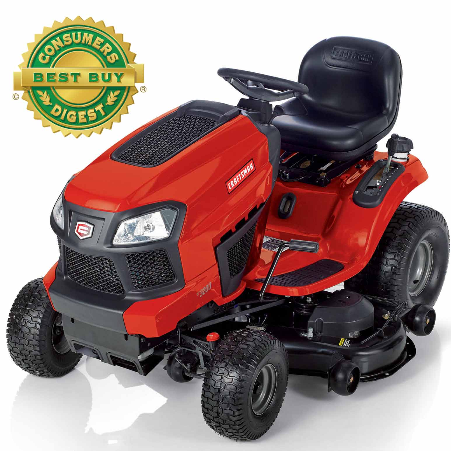"Craftsman 22 HP V-Twin 48"" Turn Tight Fast Riding Mower - Non CA"