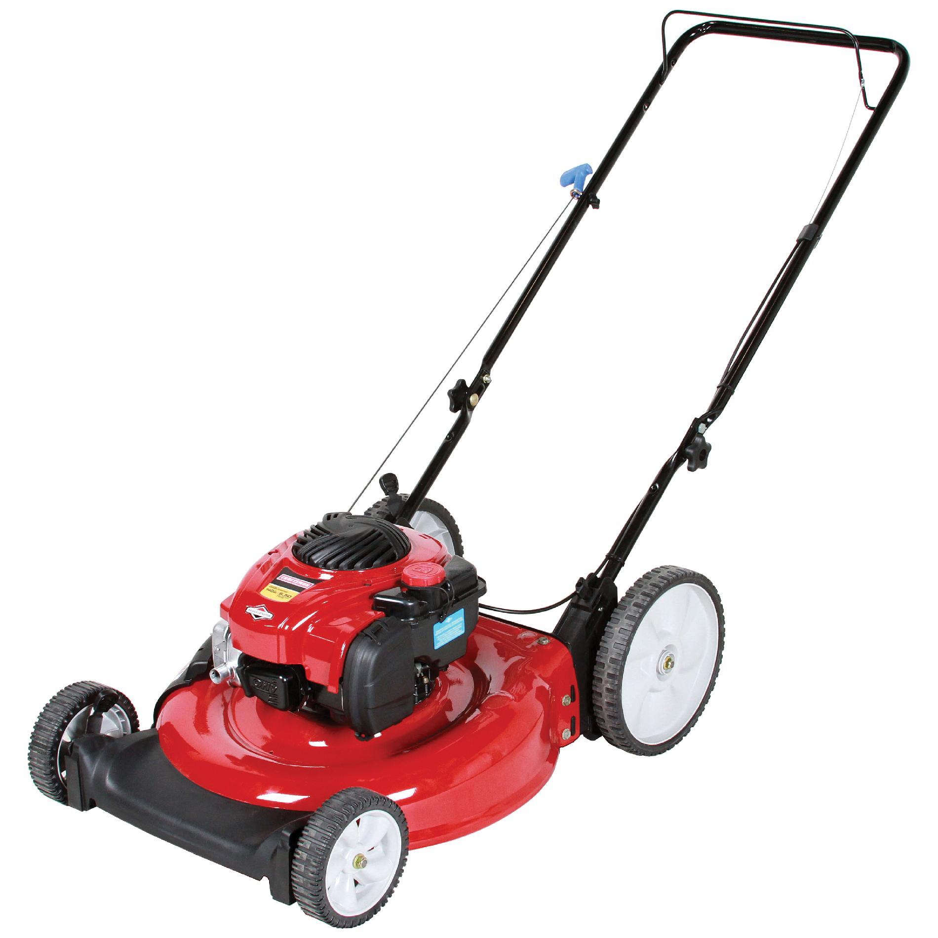 Craftsman 140cc* Briggs & Stratton Engine, High Wheel Side Discharge Push Mower 50 States