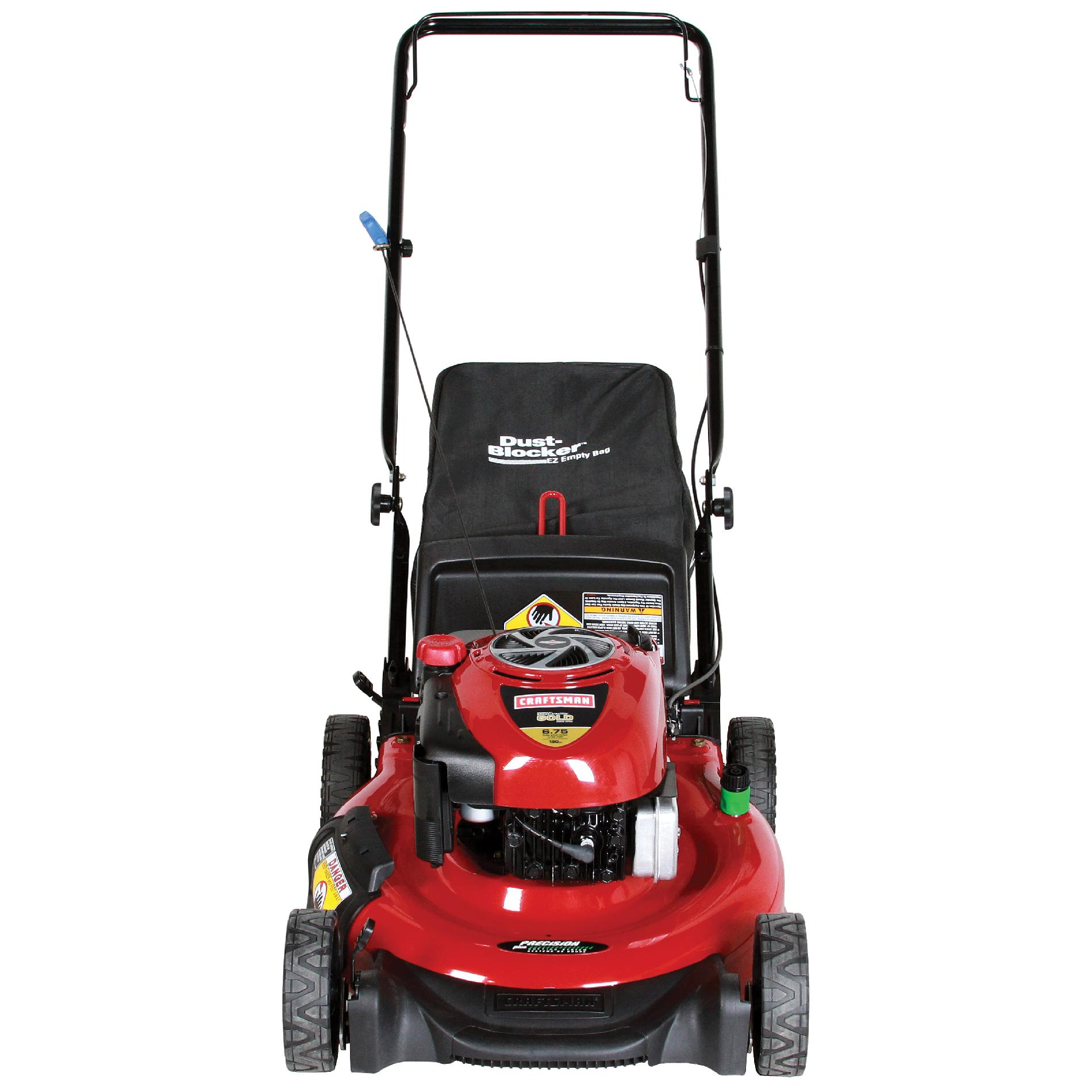 Craftsman 190cc* Briggs & Stratton Engine, Low-Wheel Rear Bag Push Mower 50 States
