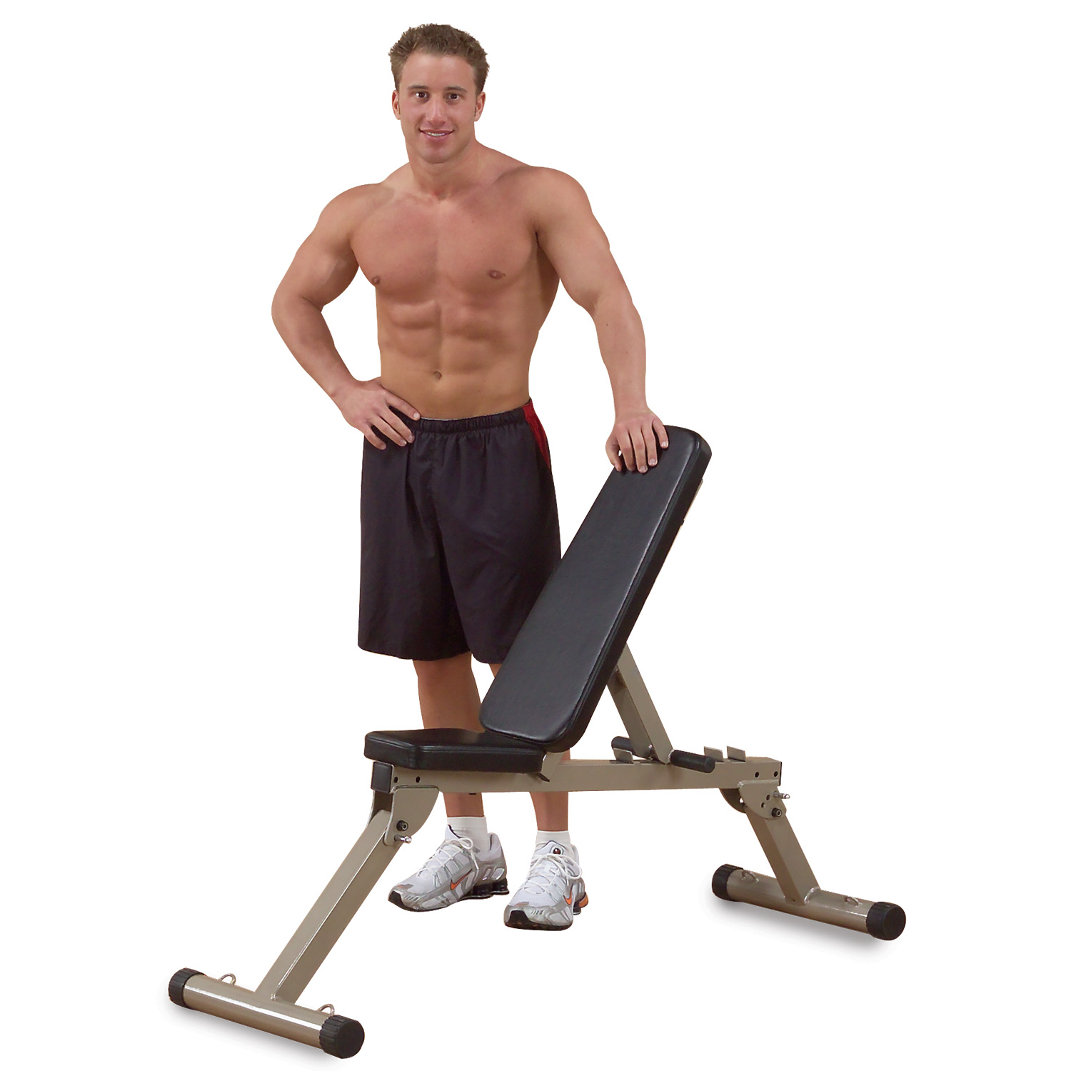 Best Fitness BFFID10 Folding Adjustable Bench