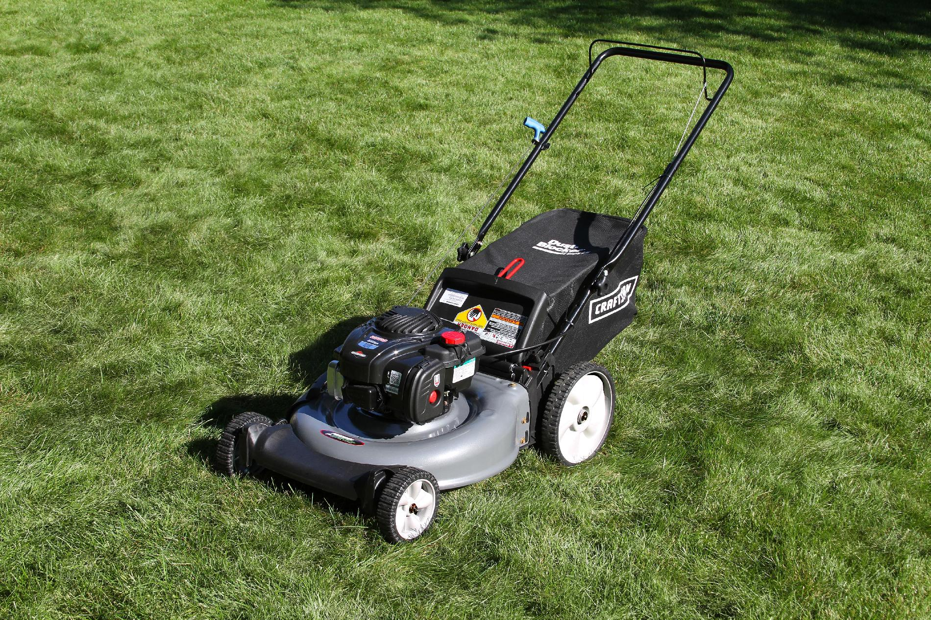 Craftsman 5.0 Engine Torque Rear Bag Push Mower