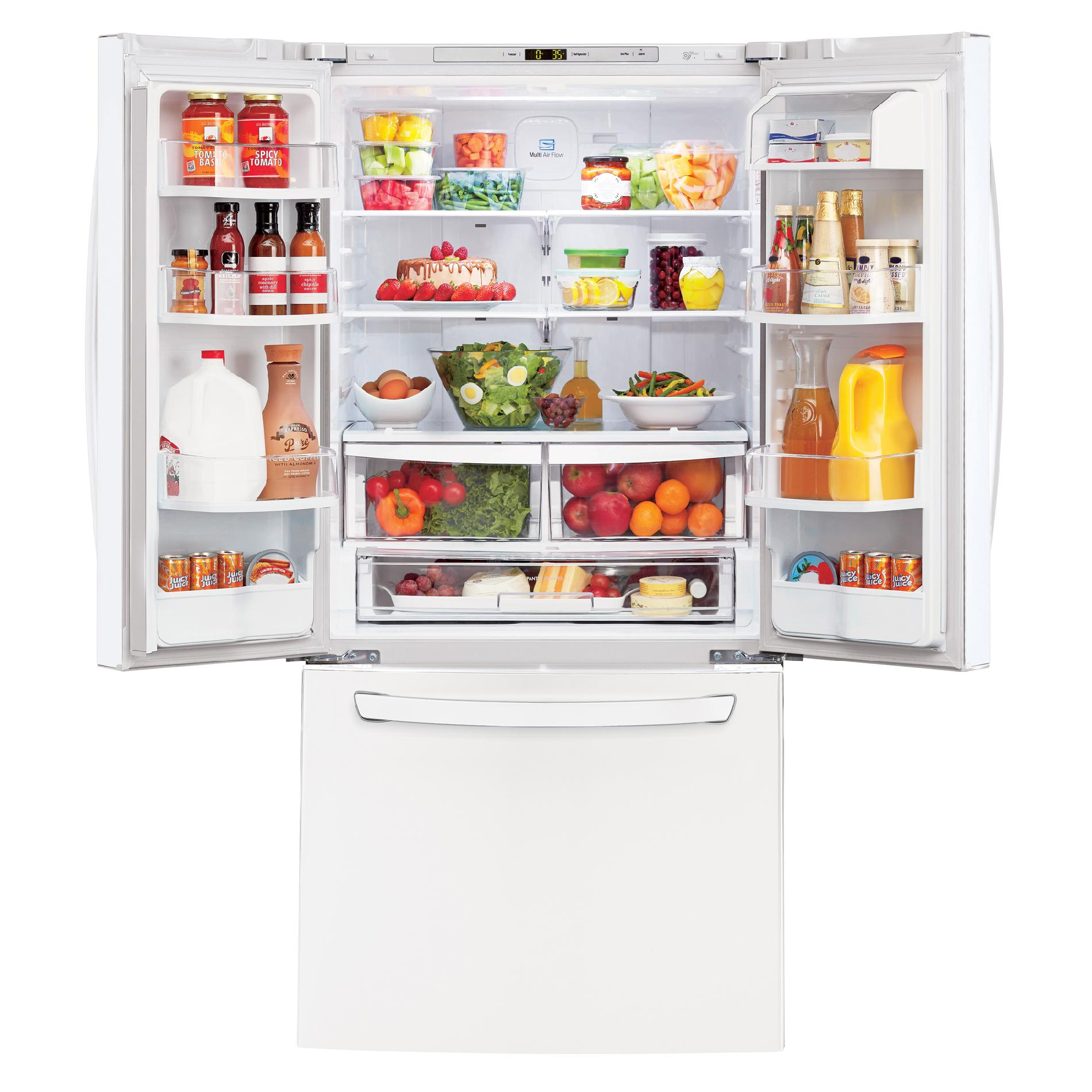 LG 22 cu. ft. French Door Bottom-Freezer Refrigerator