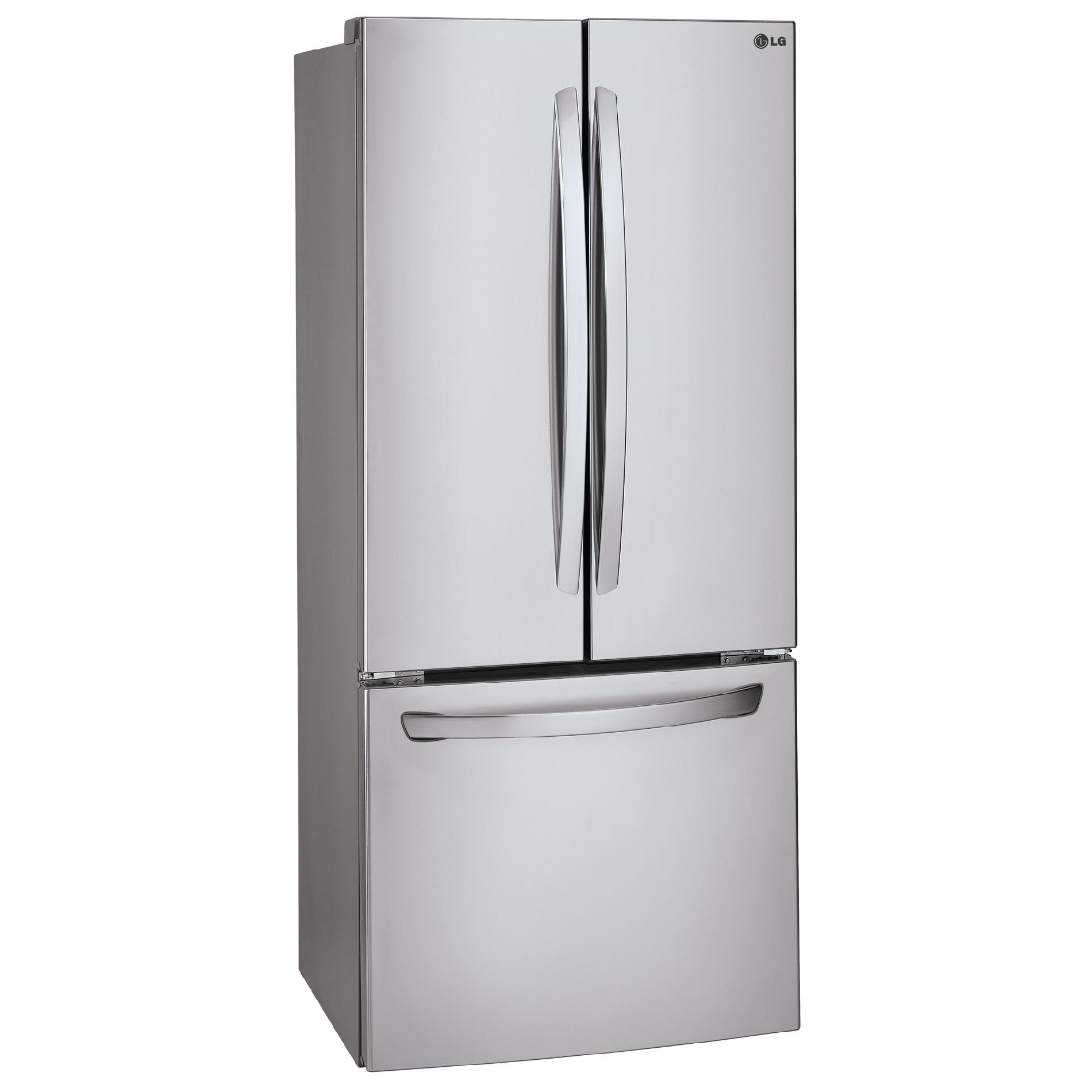 LG 22 cu. ft. French Door Bottom-Freezer Refrigerator
