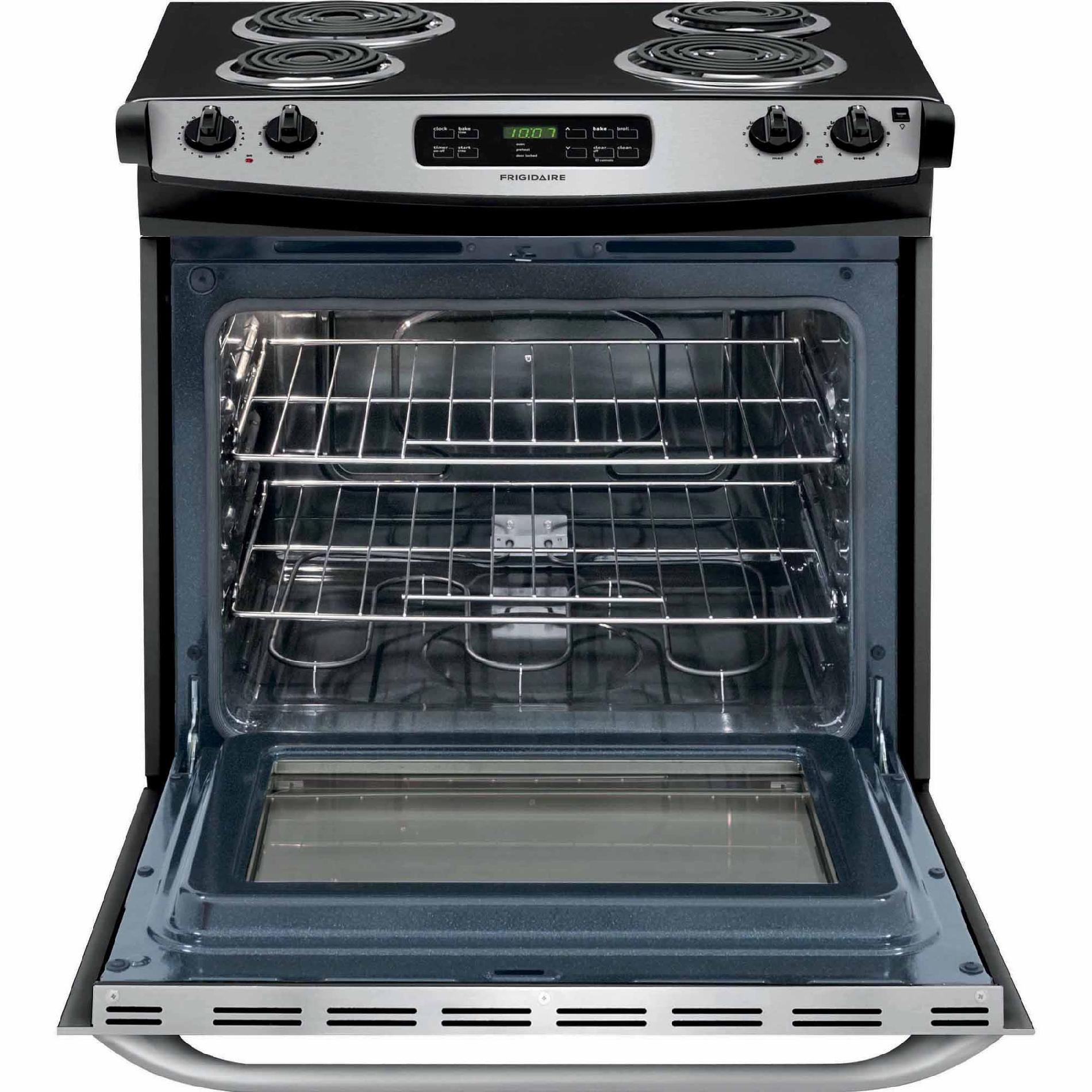Frigidaire FFES3015PS 4.6 cu. ft. Slide-In Electric Range - Stainless Steel