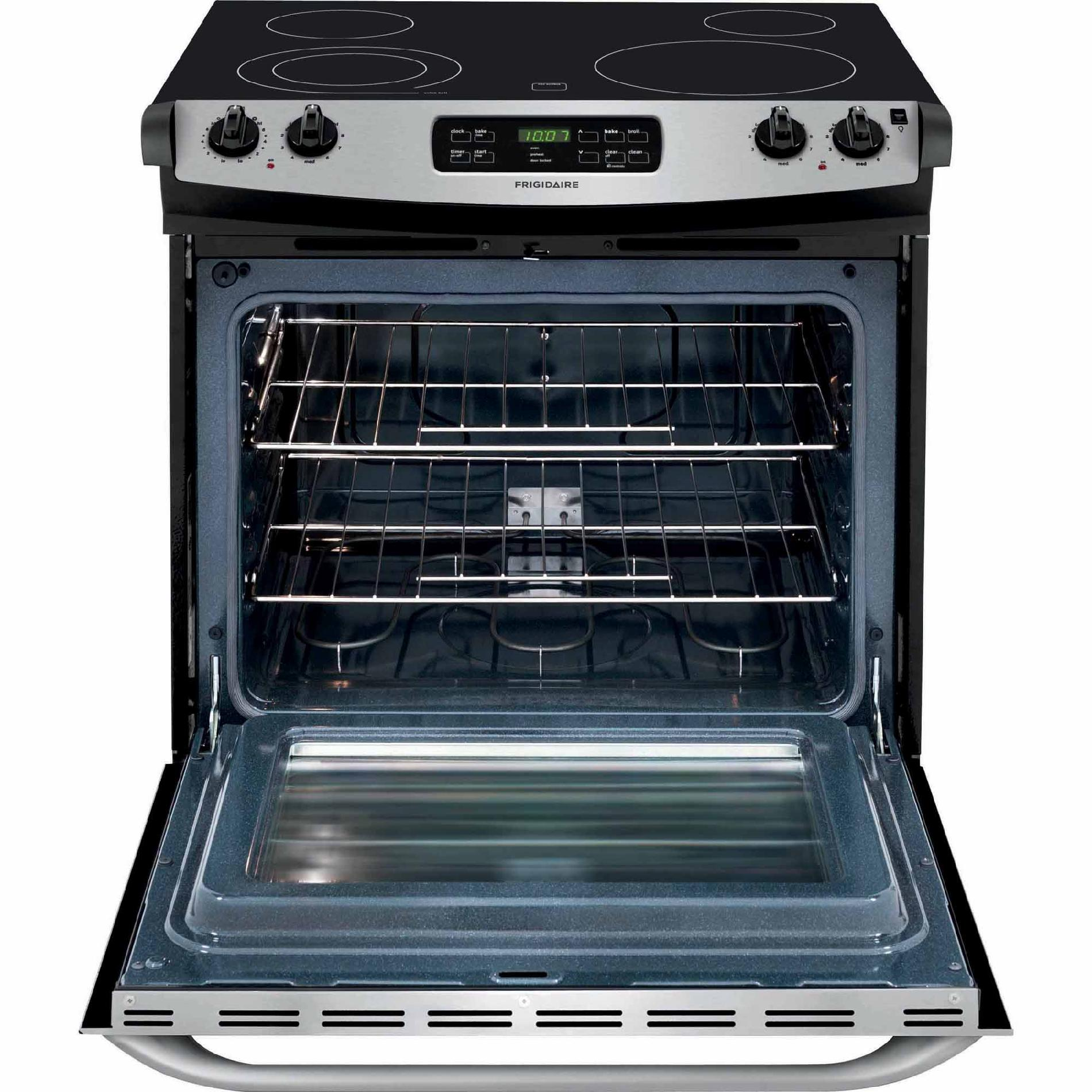Frigidaire FFES3025PS 4.6 cu. ft. Slide-In Electric Range - Stainless Steel