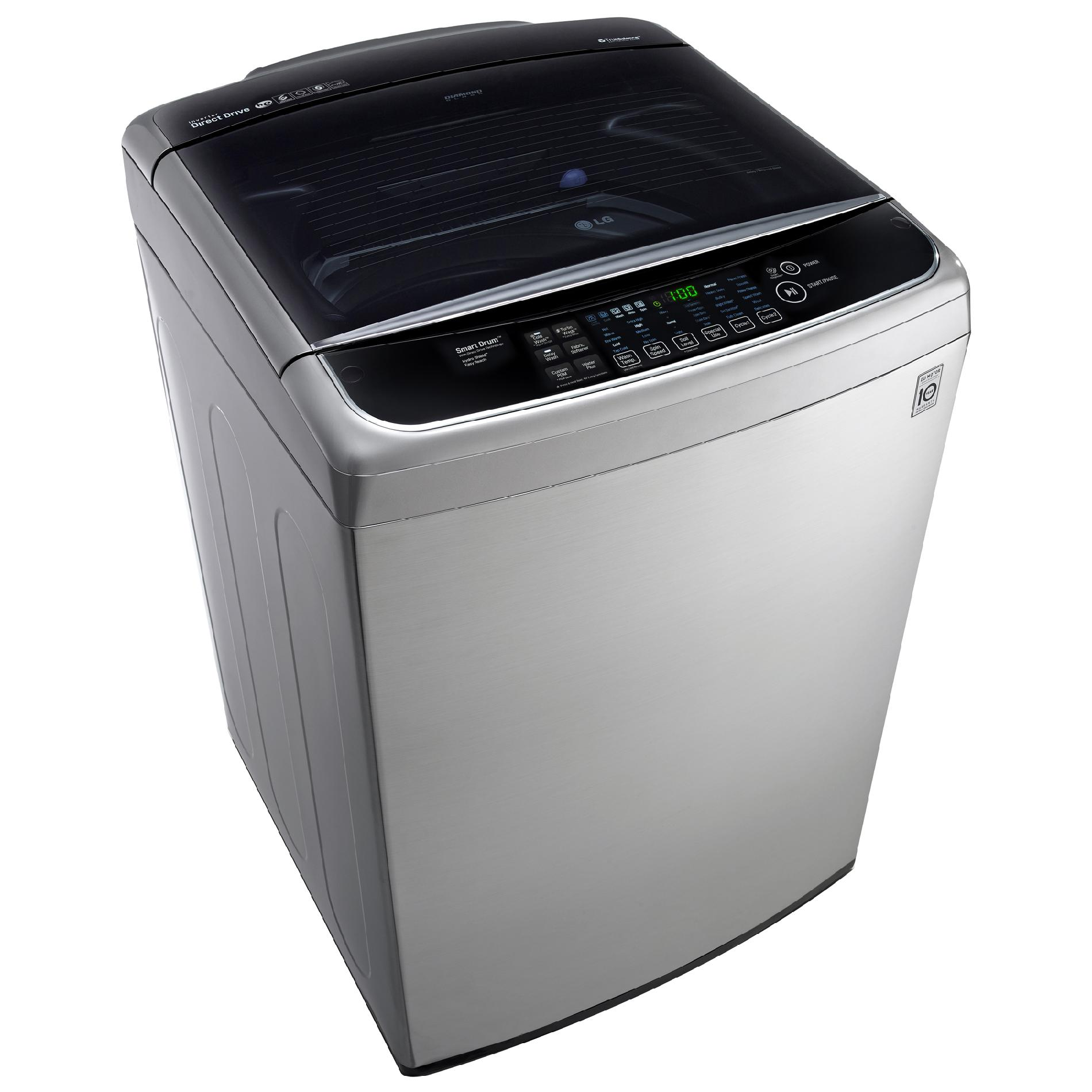 LG 5.0 cu. ft. High-Efficiency Top-Load Washer w/ TurboWash™