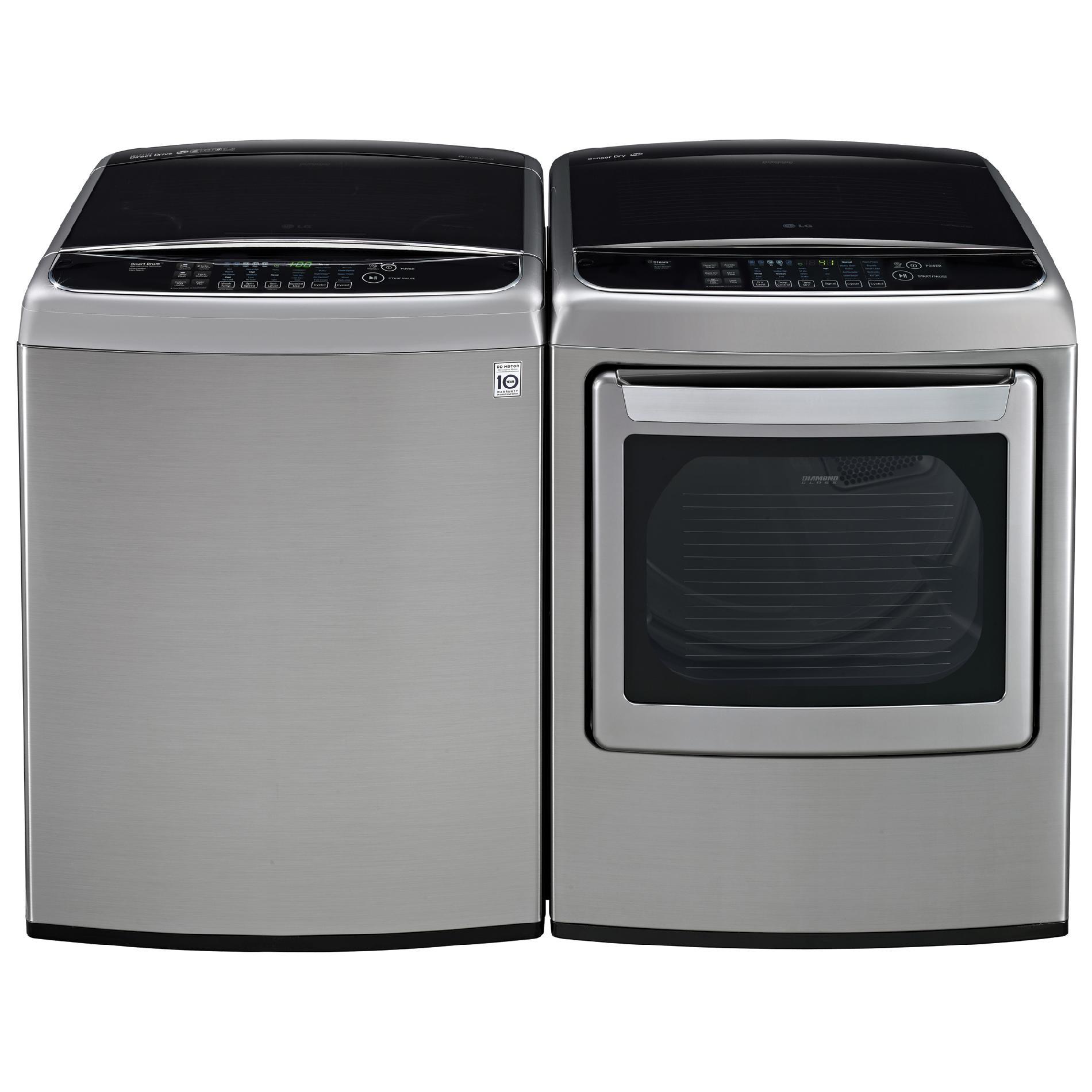 LG WT1701CV 4.9 cu. ft. Top-Load Washer w/ TurboWash™