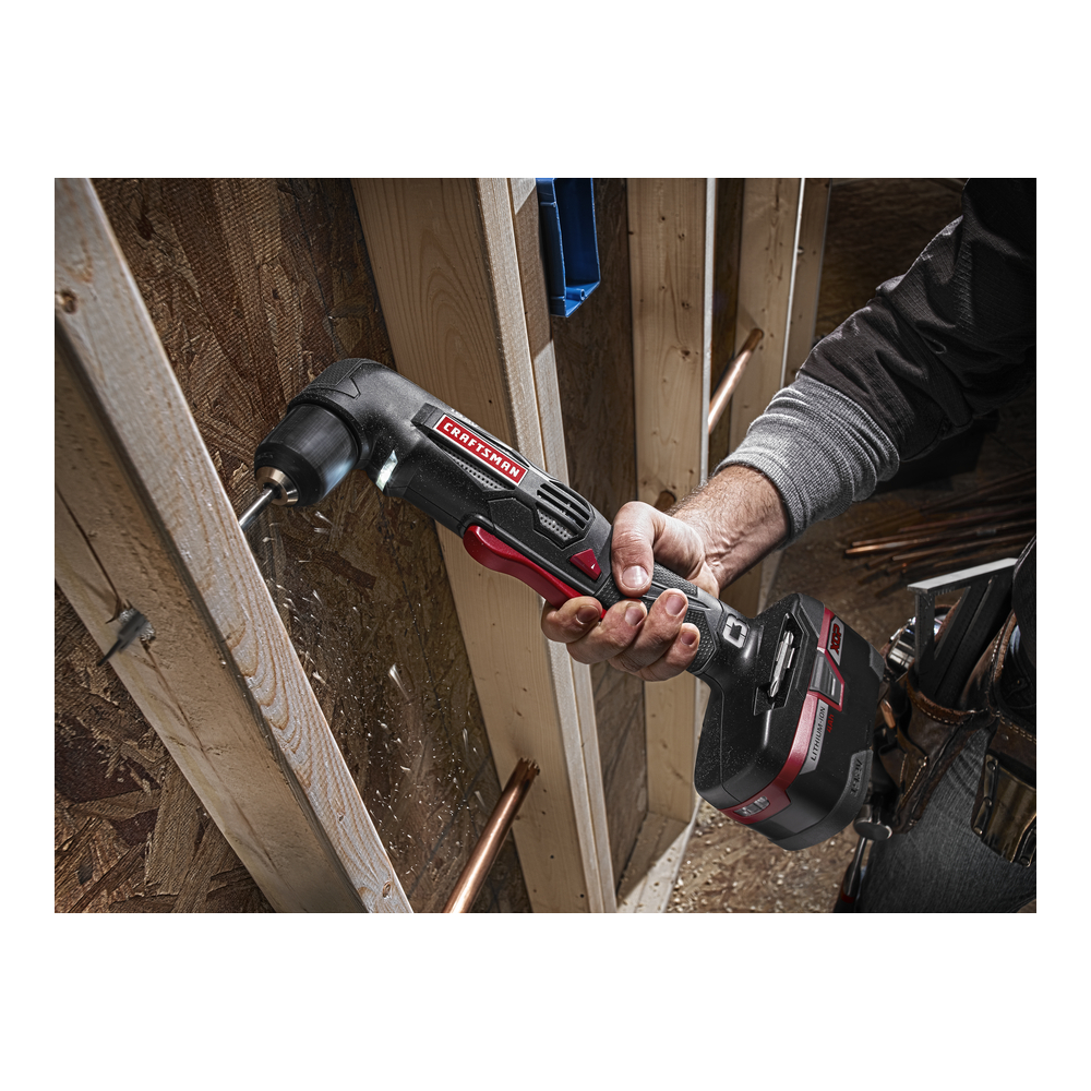 Craftsman C3 19.2-Volt 3/8-in. Compact Right Angle Drill
