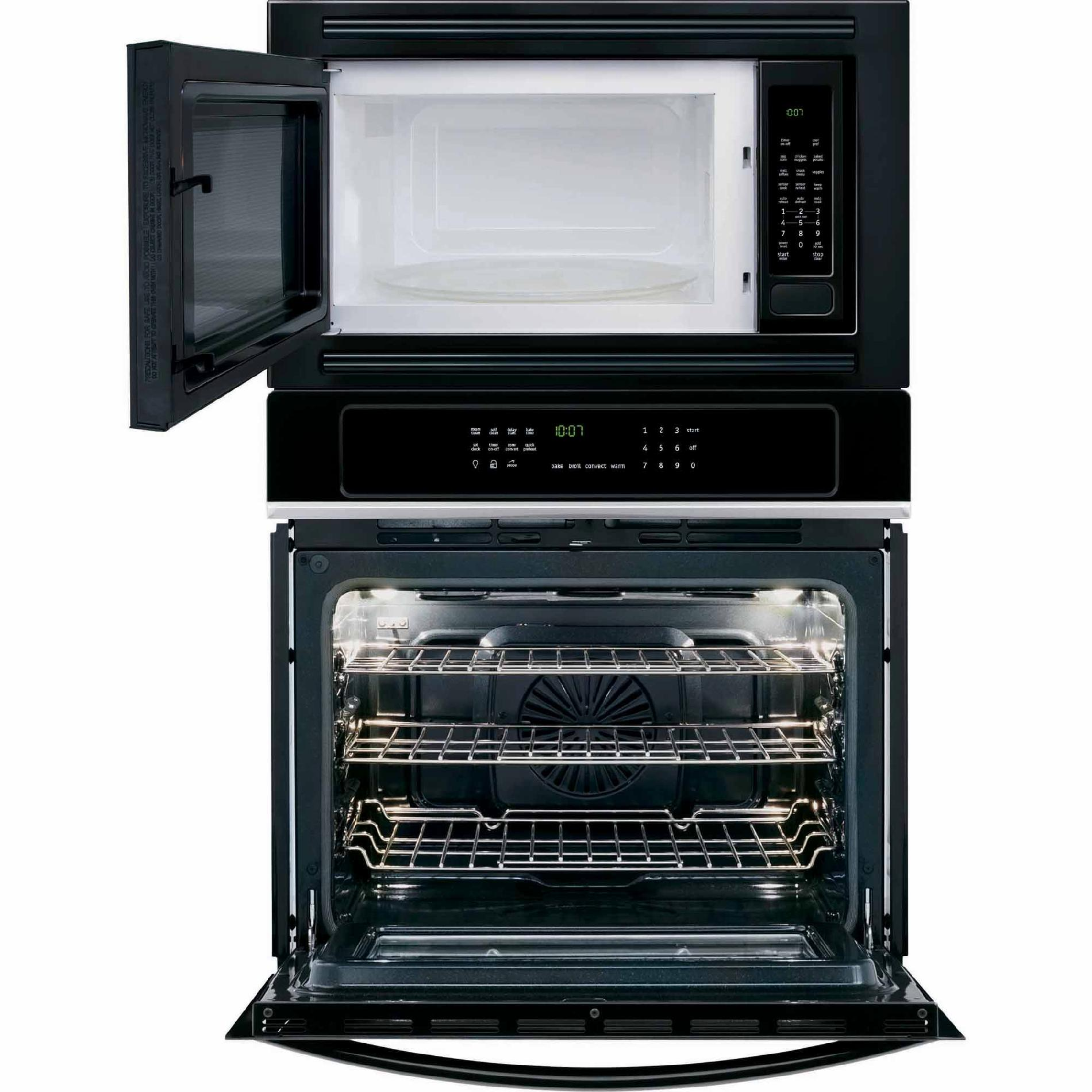 Frigidaire FGMC2765PB Gallery 3.8 cu. ft. Electric Wall Oven/Microwave Combination - Black