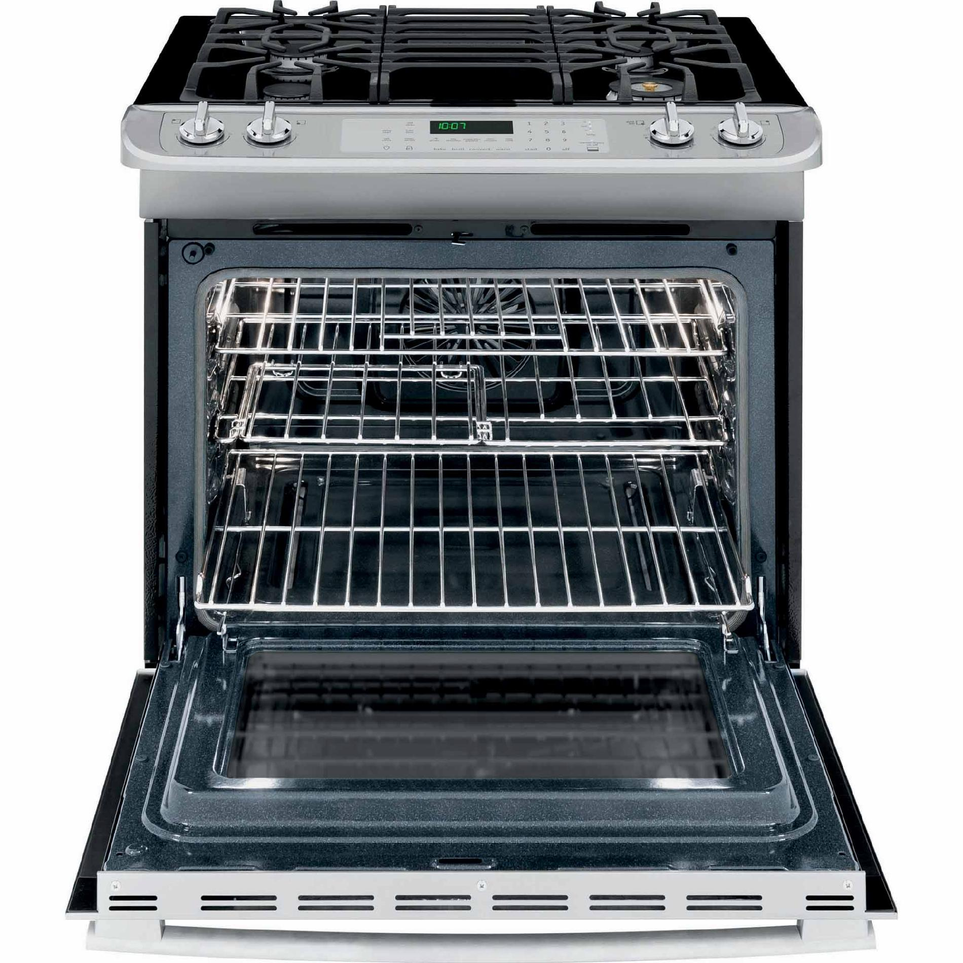 Frigidaire Professional 4.6 cu. ft. Slide-In Gas Range w/ Smudge-Proof™ - Stainless Steel