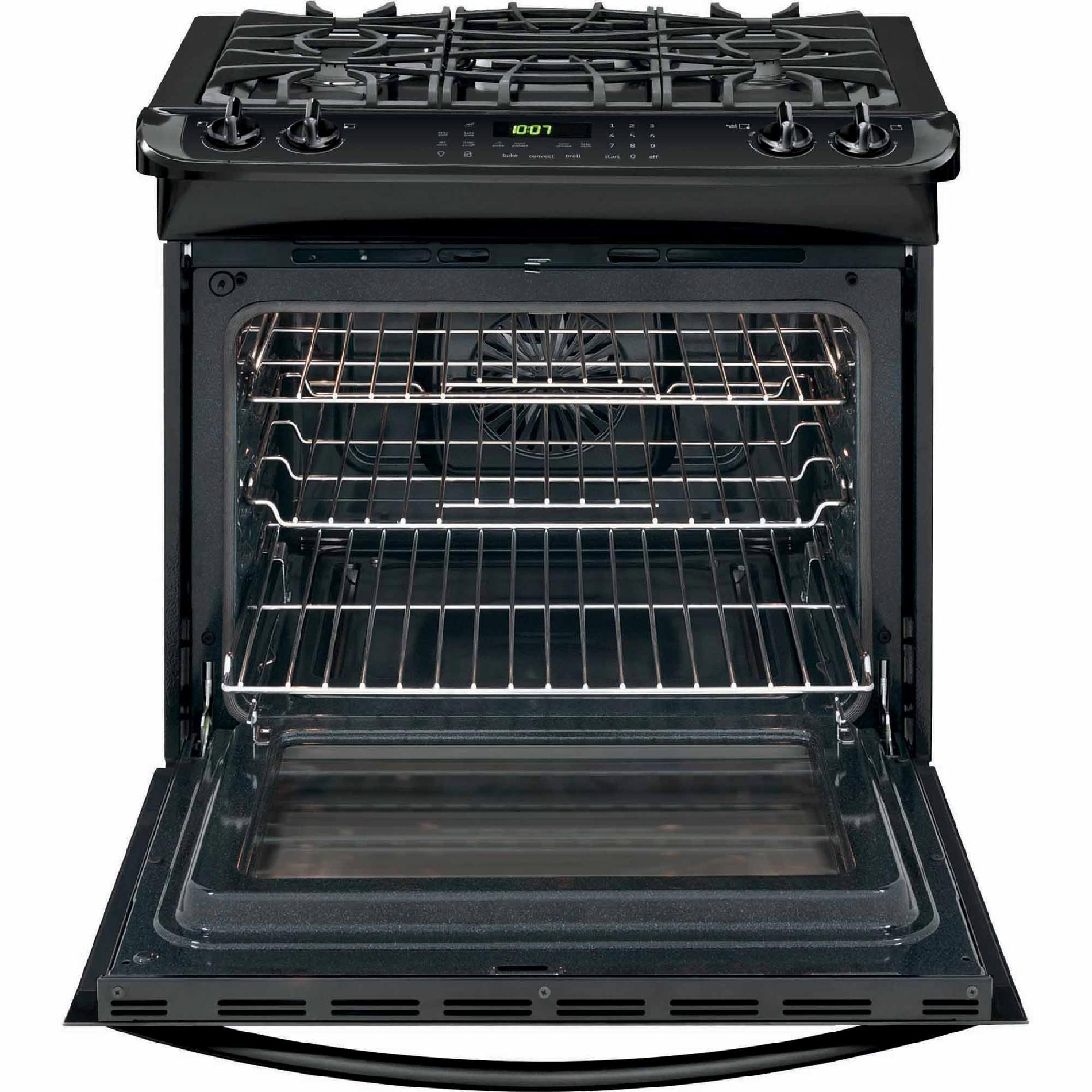 Frigidaire FGGS3065PB Gallery 4.6 cu. ft. Slide-In Gas Range - Black