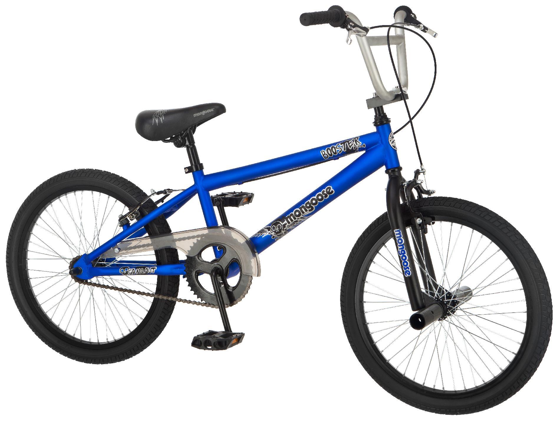 Mongoose Booster 20 Inch Boy's BMX Bike