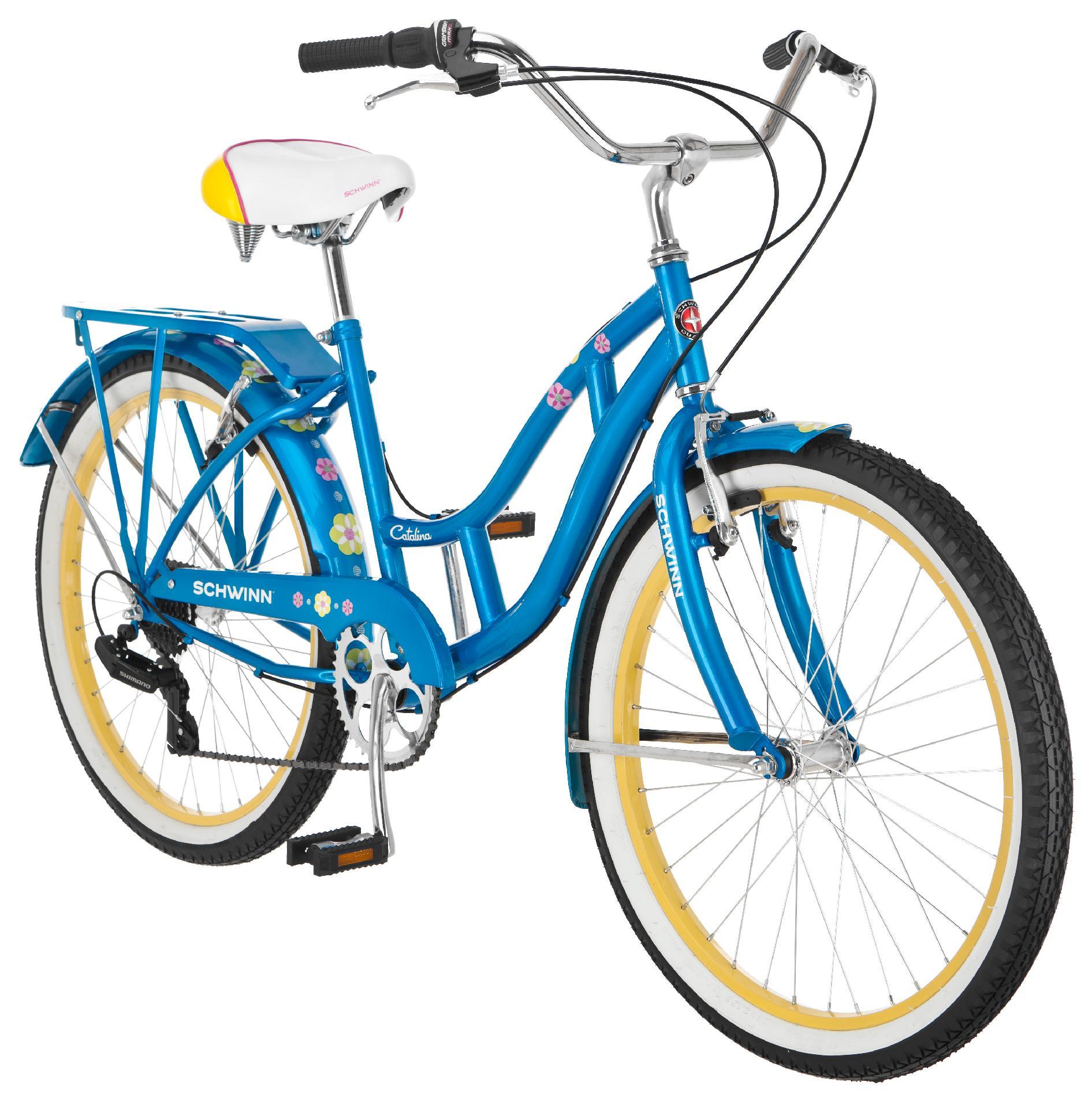 "Schwinn 24"" Girls' Catalina Cruiser Bike"