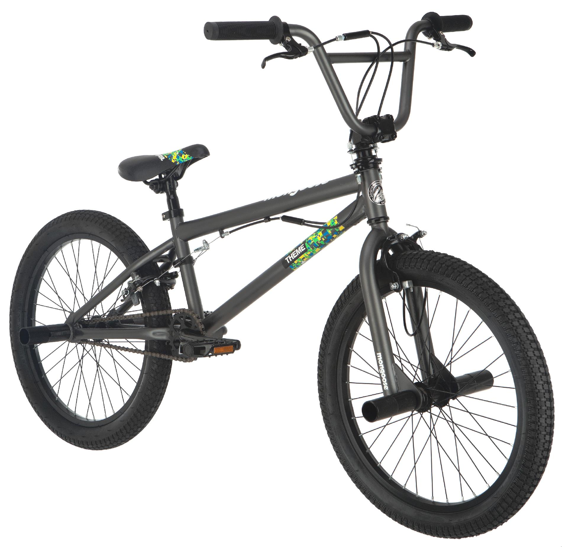"""Mongoose Theme Boys 20"""" Freestyle Bike"""