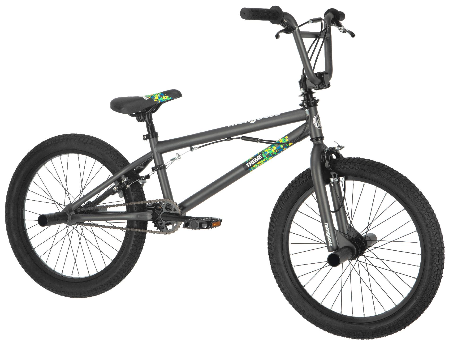 "Mongoose Theme Boy's 20"" Freestyle Bike"