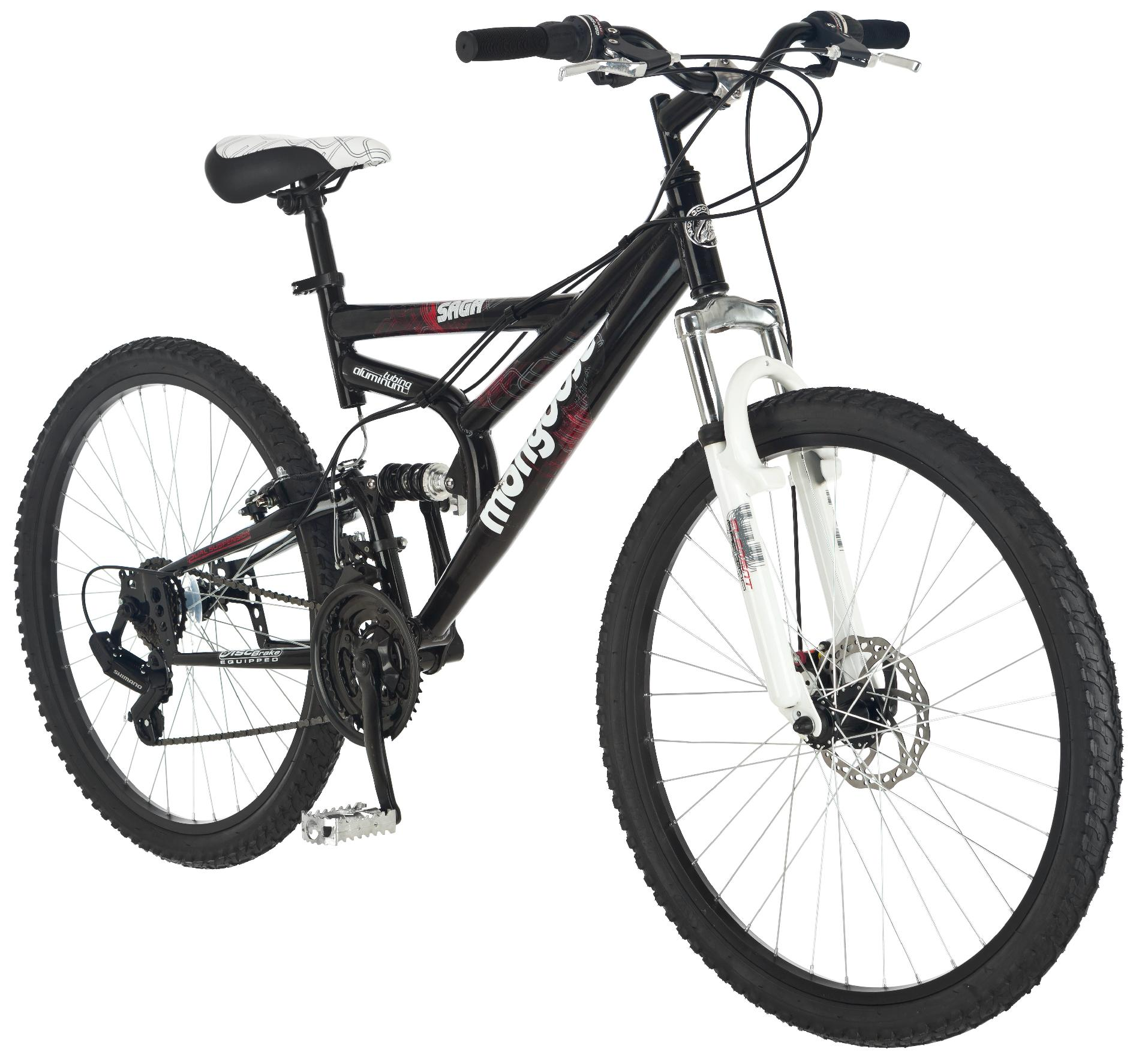 "Mongoose Saga 26"" Mens Mountain Bike"
