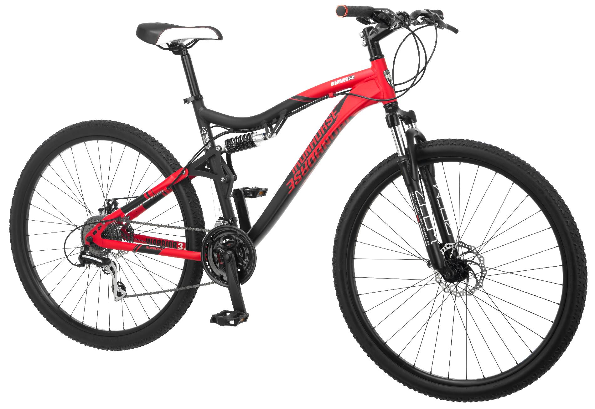 "IRON HORSE 29"" Men's Warrior 3.2 Mountain Bike"