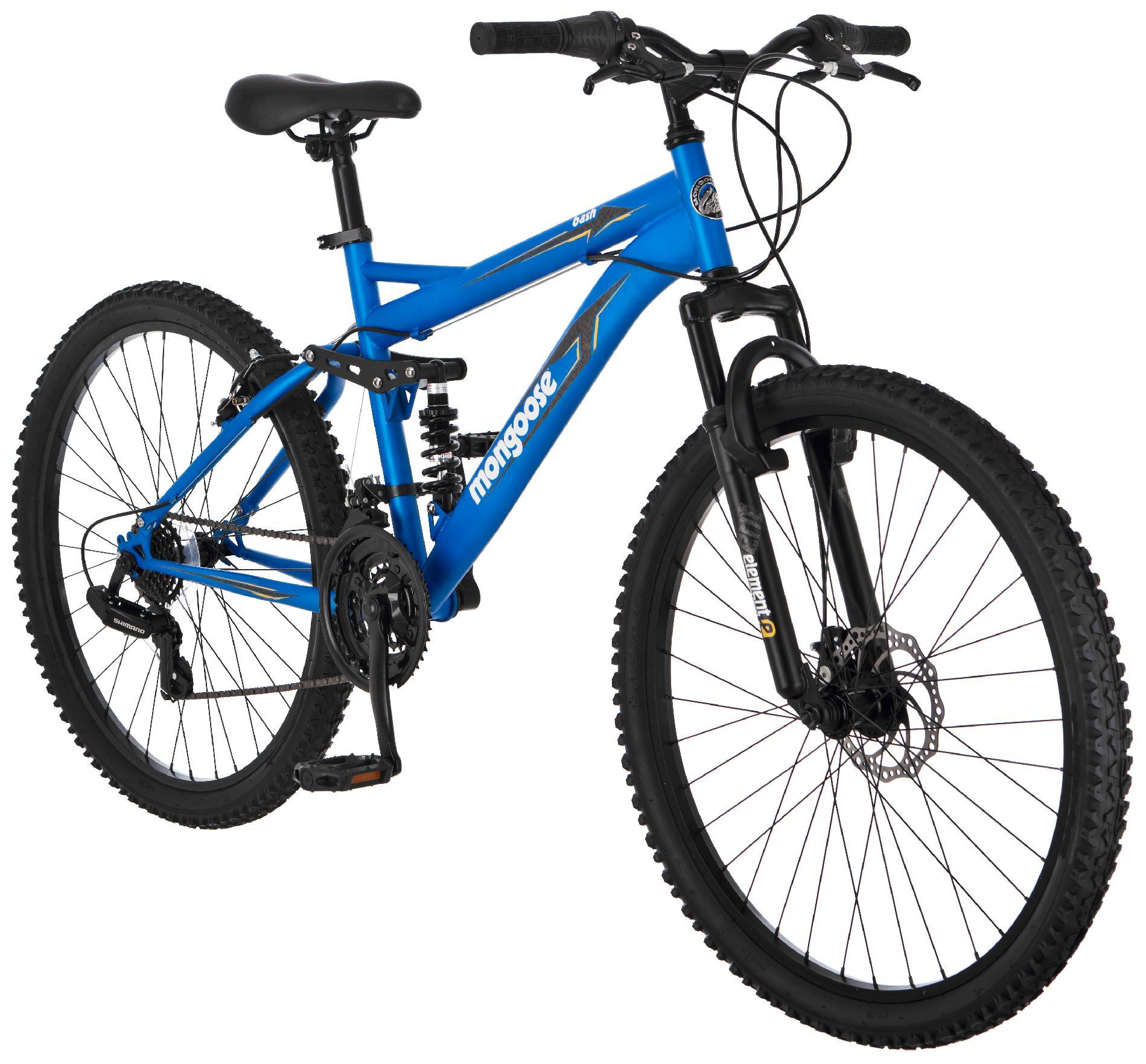 "Mongoose 26"" Men's Bash Mountain Bike"