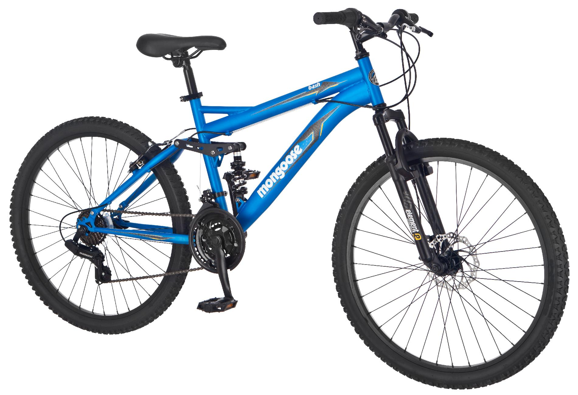 "Mongoose 26"" Men's Bash Mountain Bike"