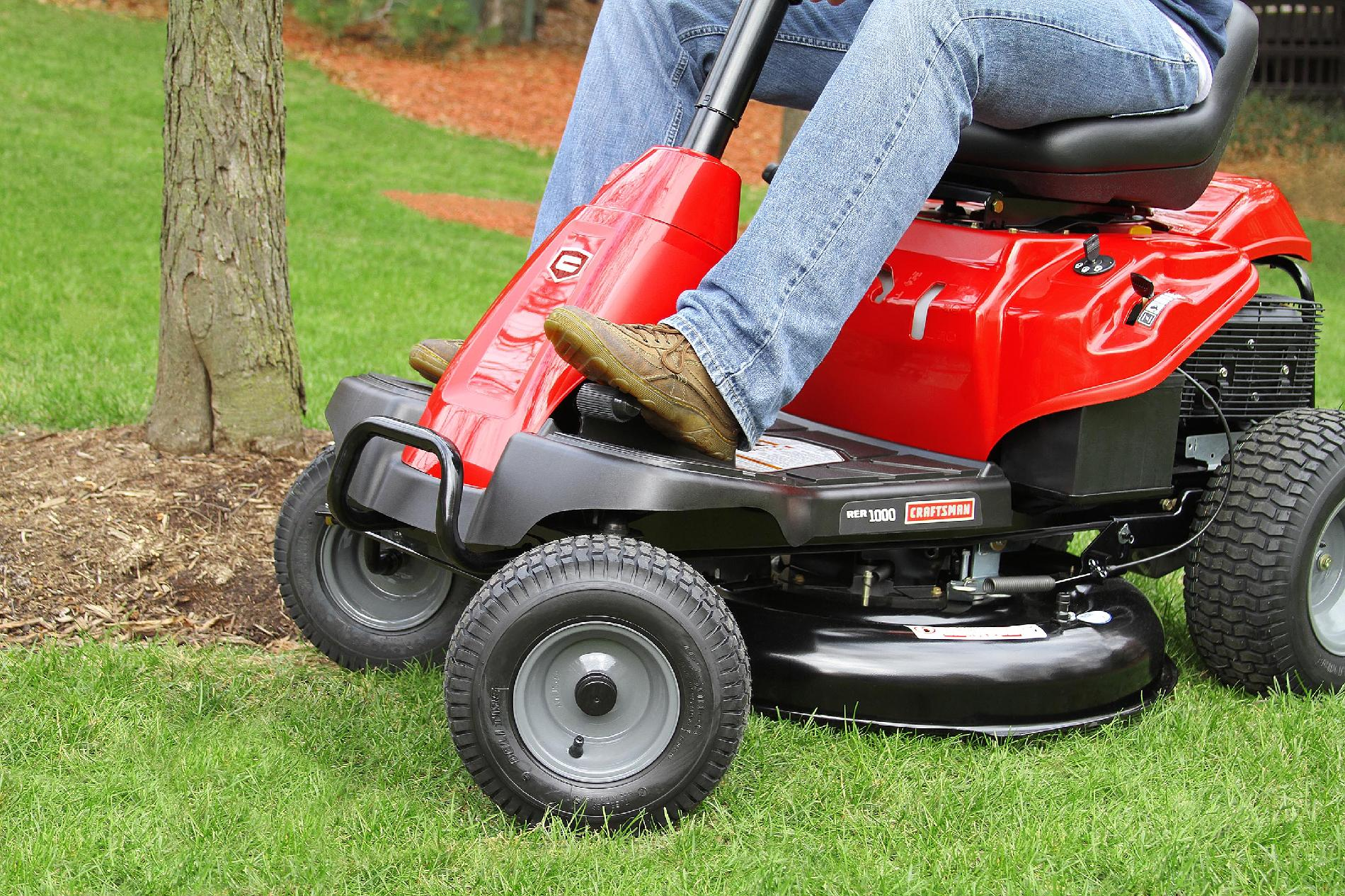 "Craftsman 420cc 30"" 6-Speed Rear Engine Riding Mower – Non CA"