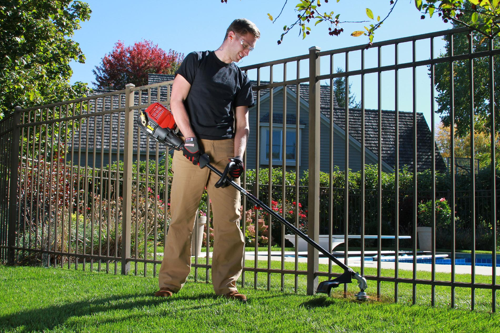 Craftsman 30cc* 4-Cycle Straight Shaft Weedwacker™Gas Trimmer.