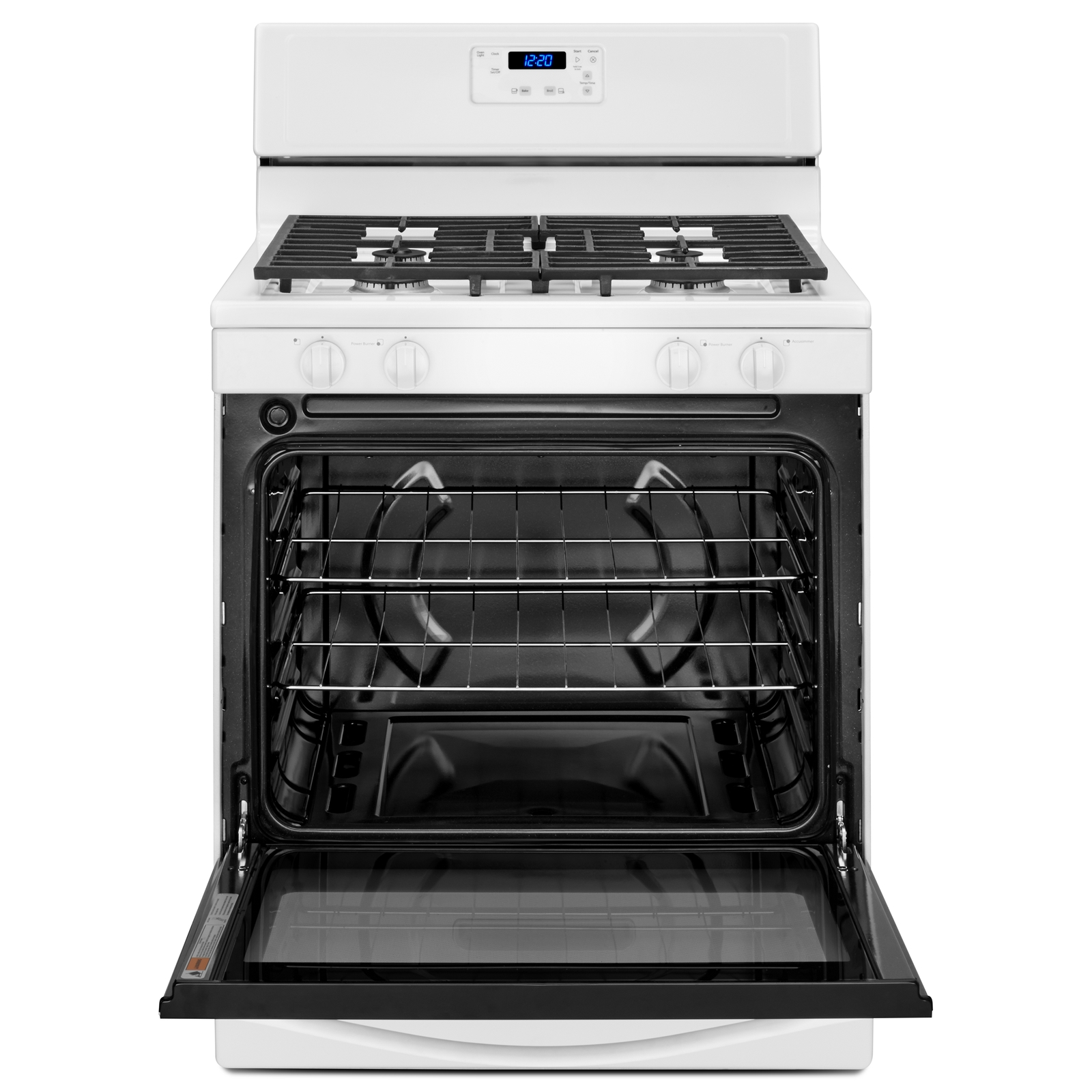 Whirlpool WFG320M0BW 5.1 cu. ft. Gas Range w/ Broiler Drawer - White