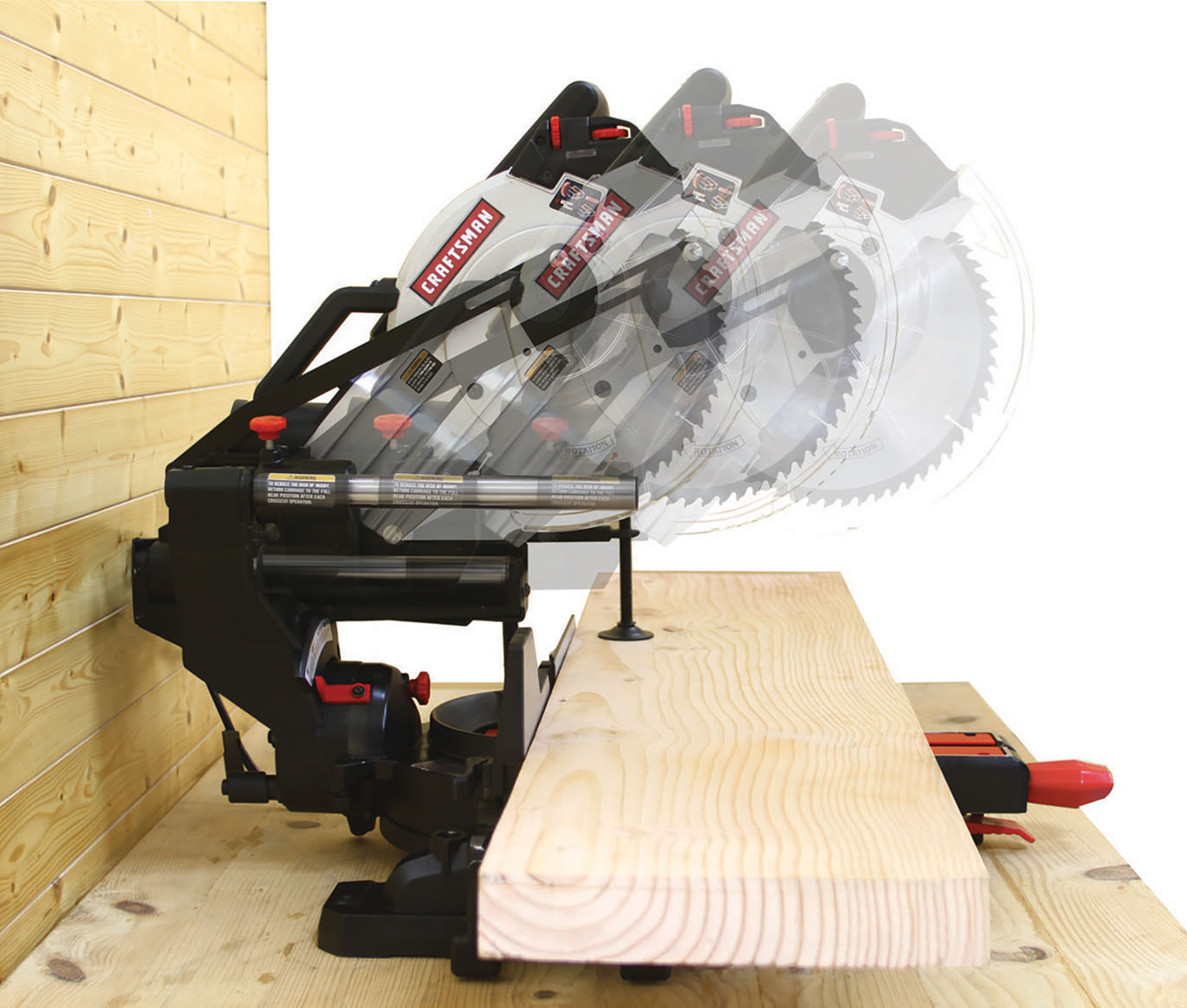 "Craftsman 10"" Compact Sliding Compound Miter Saw"