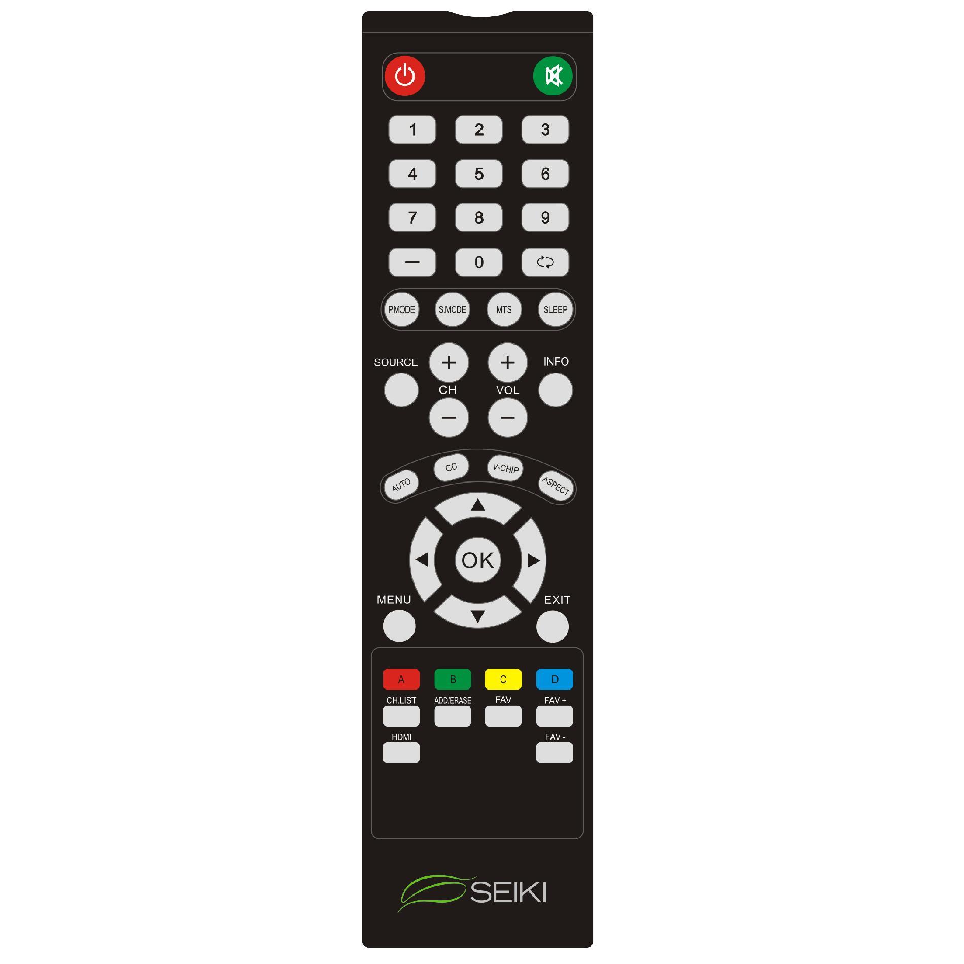 """Seiki 48"""" 1080p LED Full HDTV - SE48FY25"""