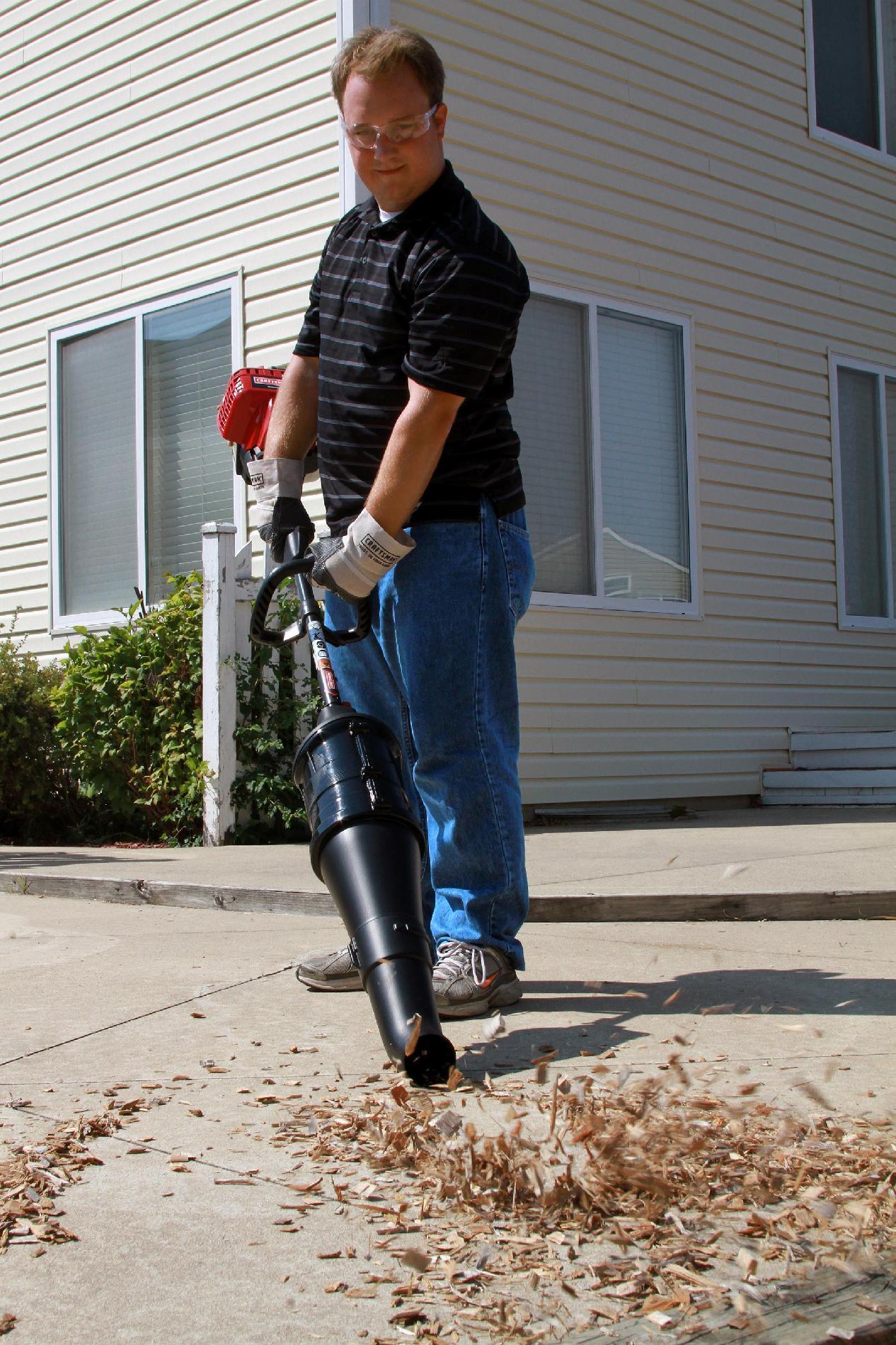 Craftsman Gas Trimmer Blower Attachment