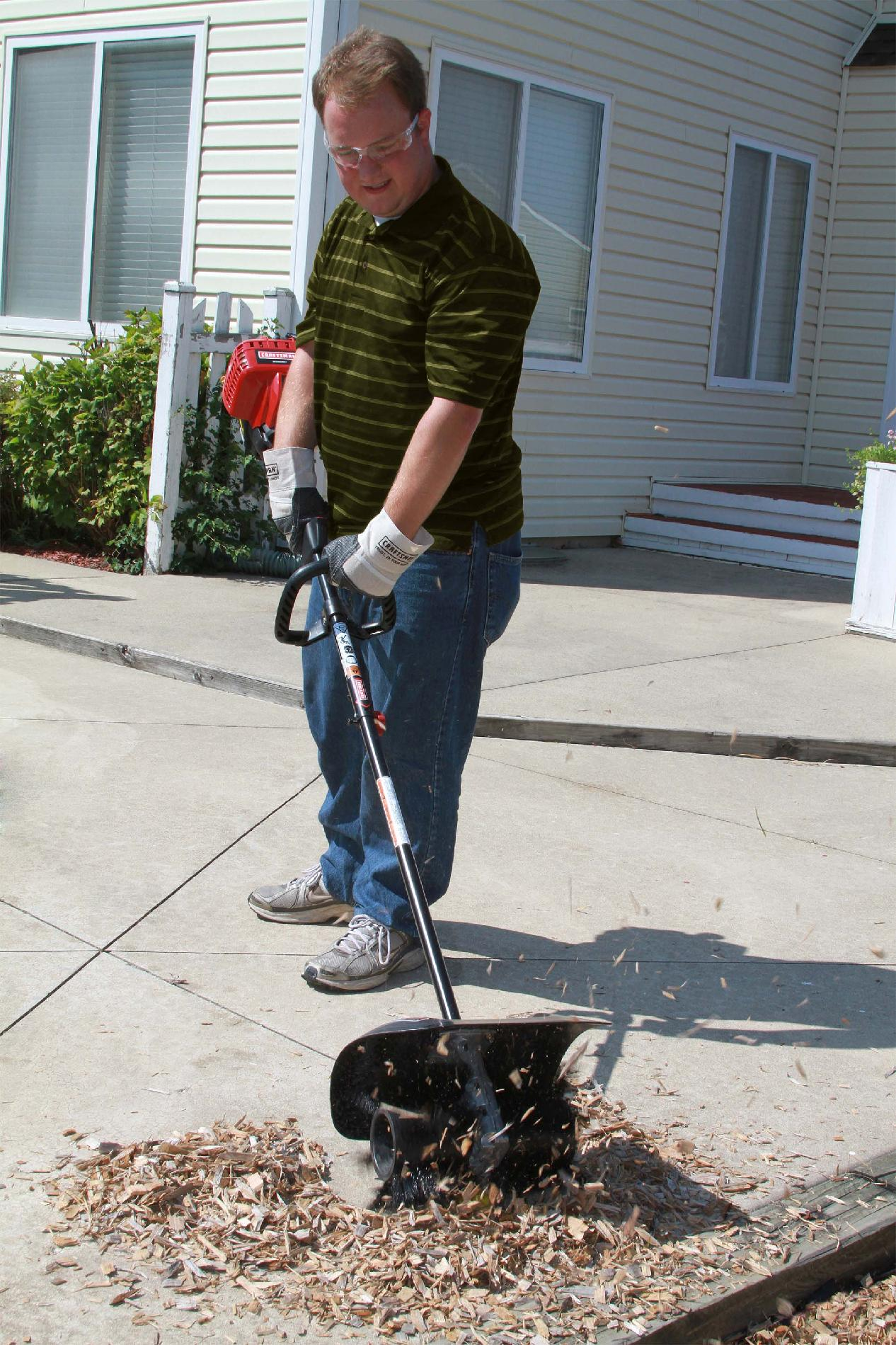 Craftsman Power Broom Attachment