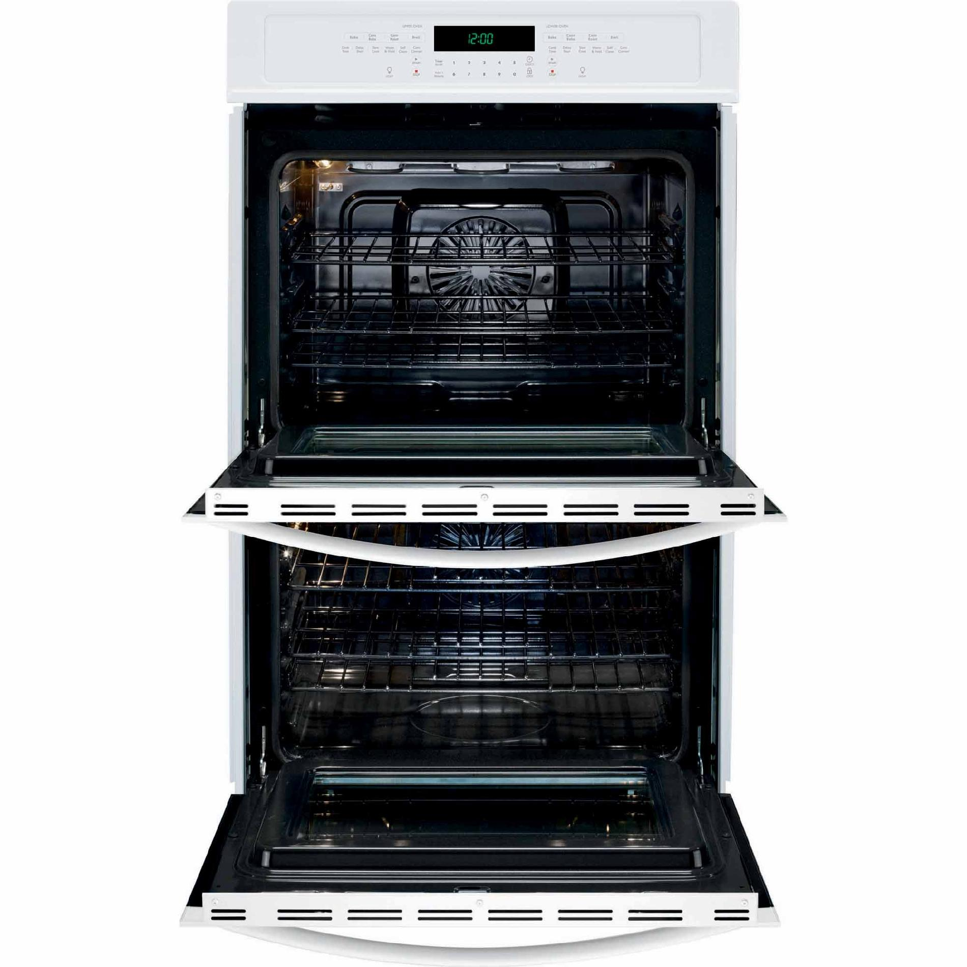 "Kenmore 49522 27"" Self-Clean Double Electric Wall Oven - White"