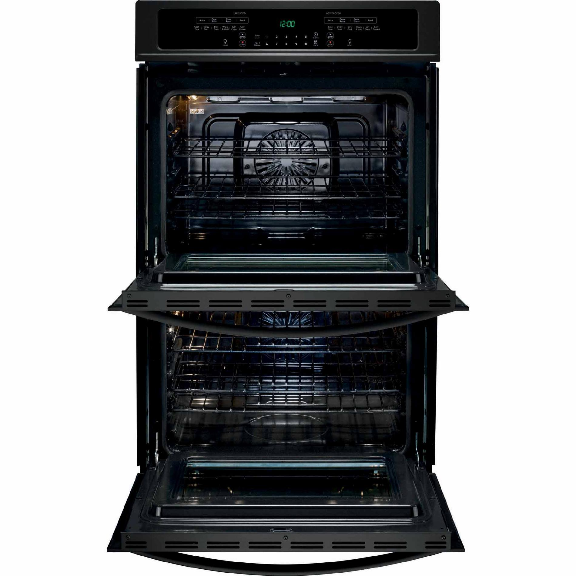 "Kenmore 49539 30"" Self-Clean Double Electric Wall Oven w/ Convection - Black"