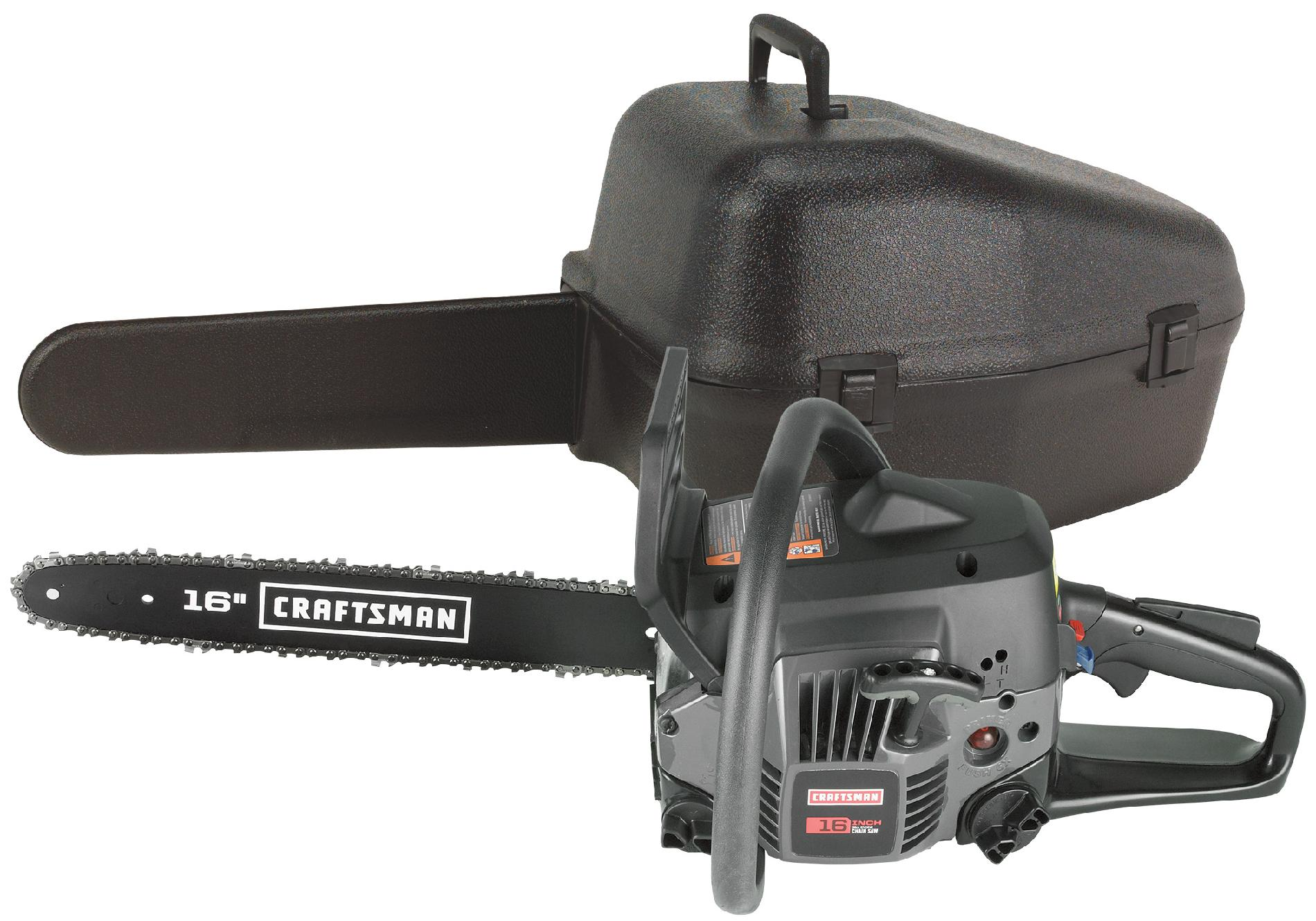 "Craftsman 16"" 38cc Gas Chainsaw"