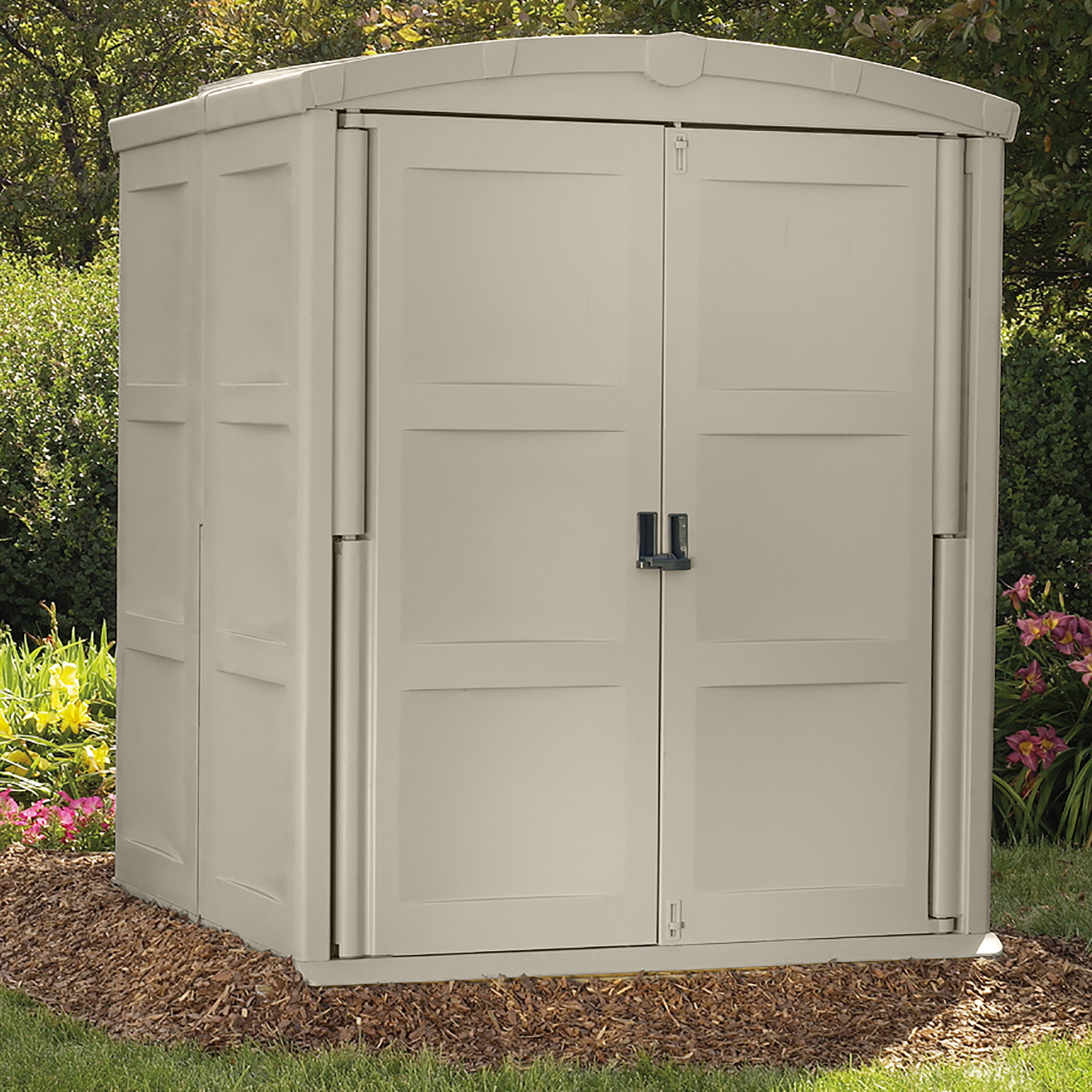 Suncast Storage Shed Large (5 ft. 5 in. D x 5 ft. 6 in. W x 6 ft. 11 in. H)