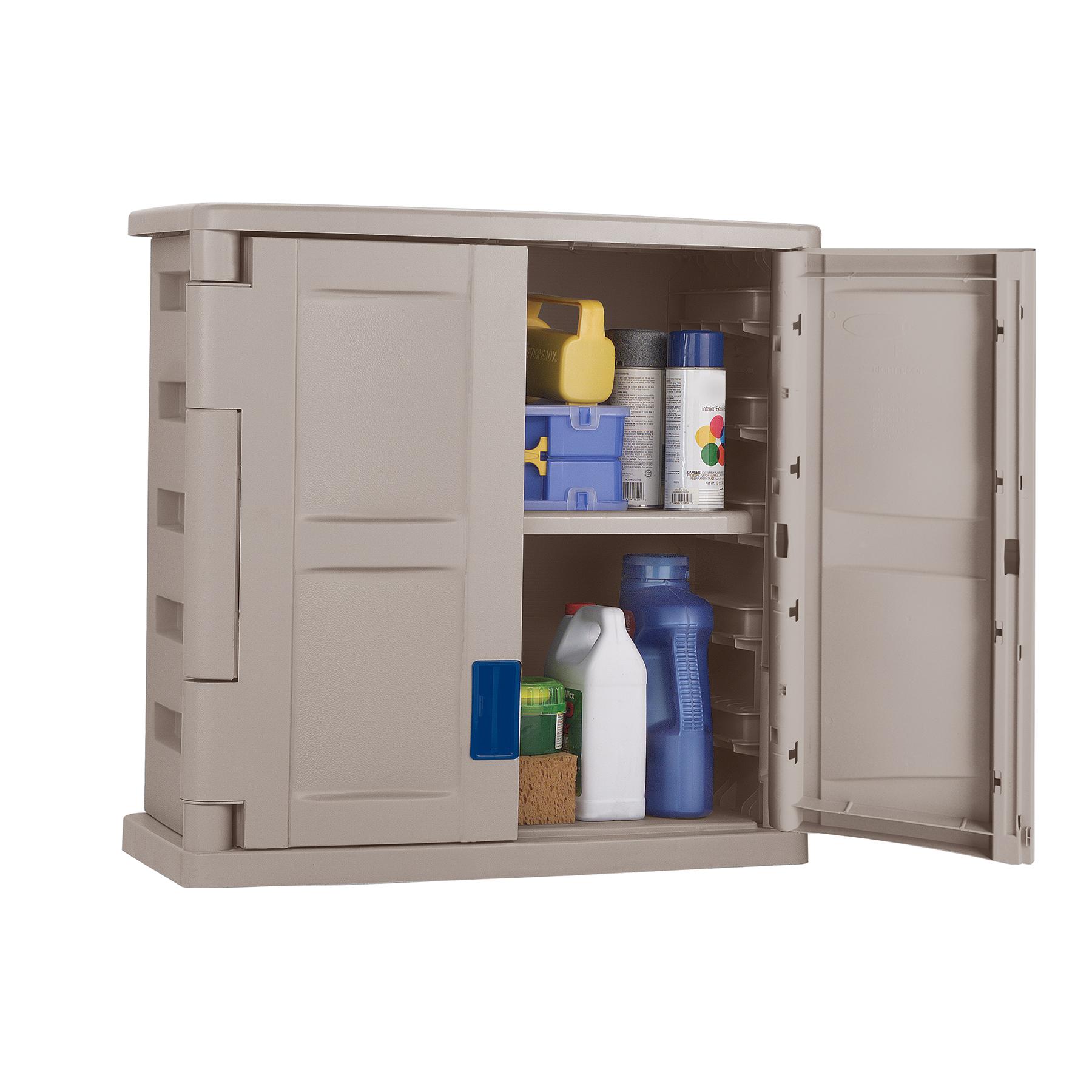 Suncast Two Door Utility Wall Cabinet