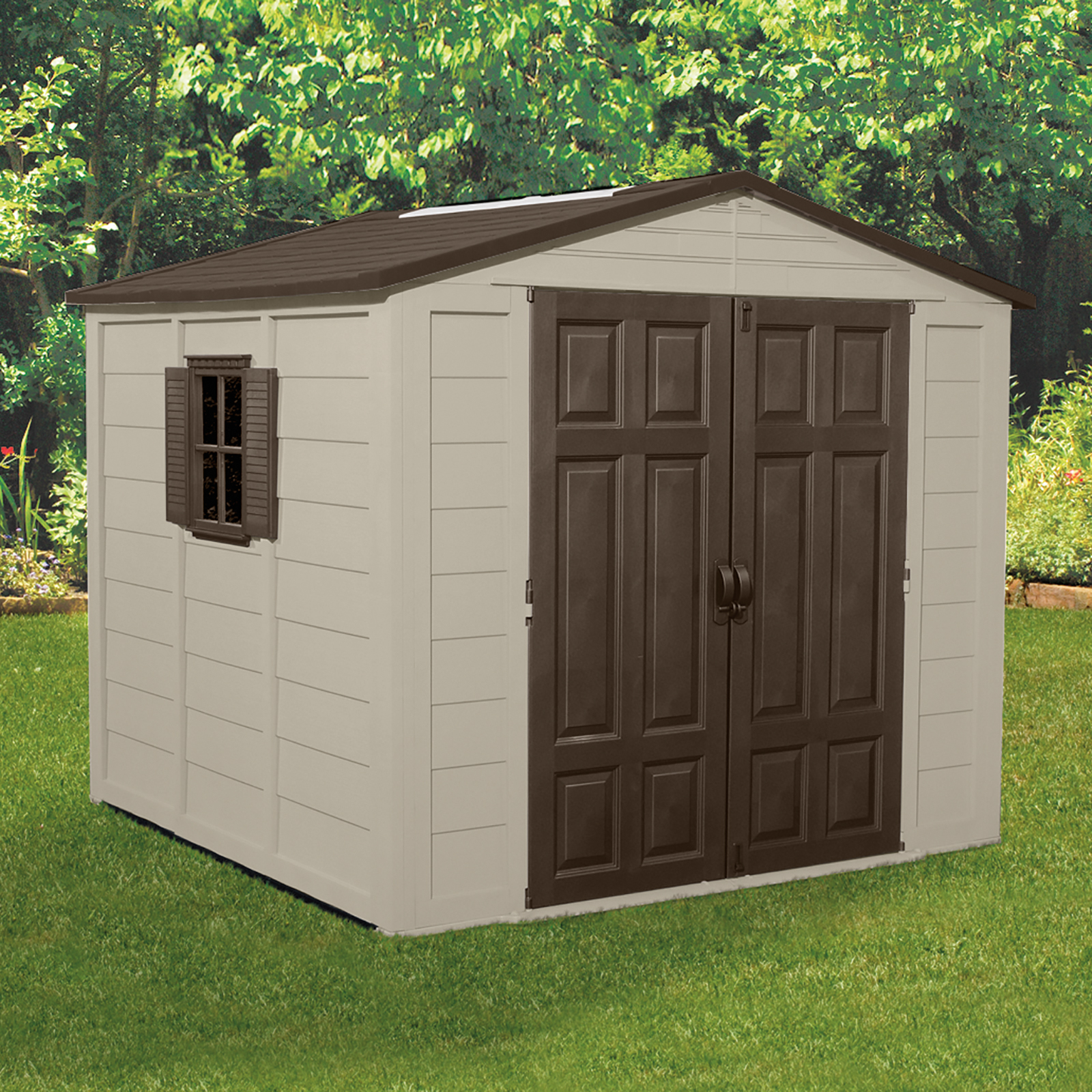 Suncast Storage Building (7-1/2 ft. x 7-1/2 ft.)