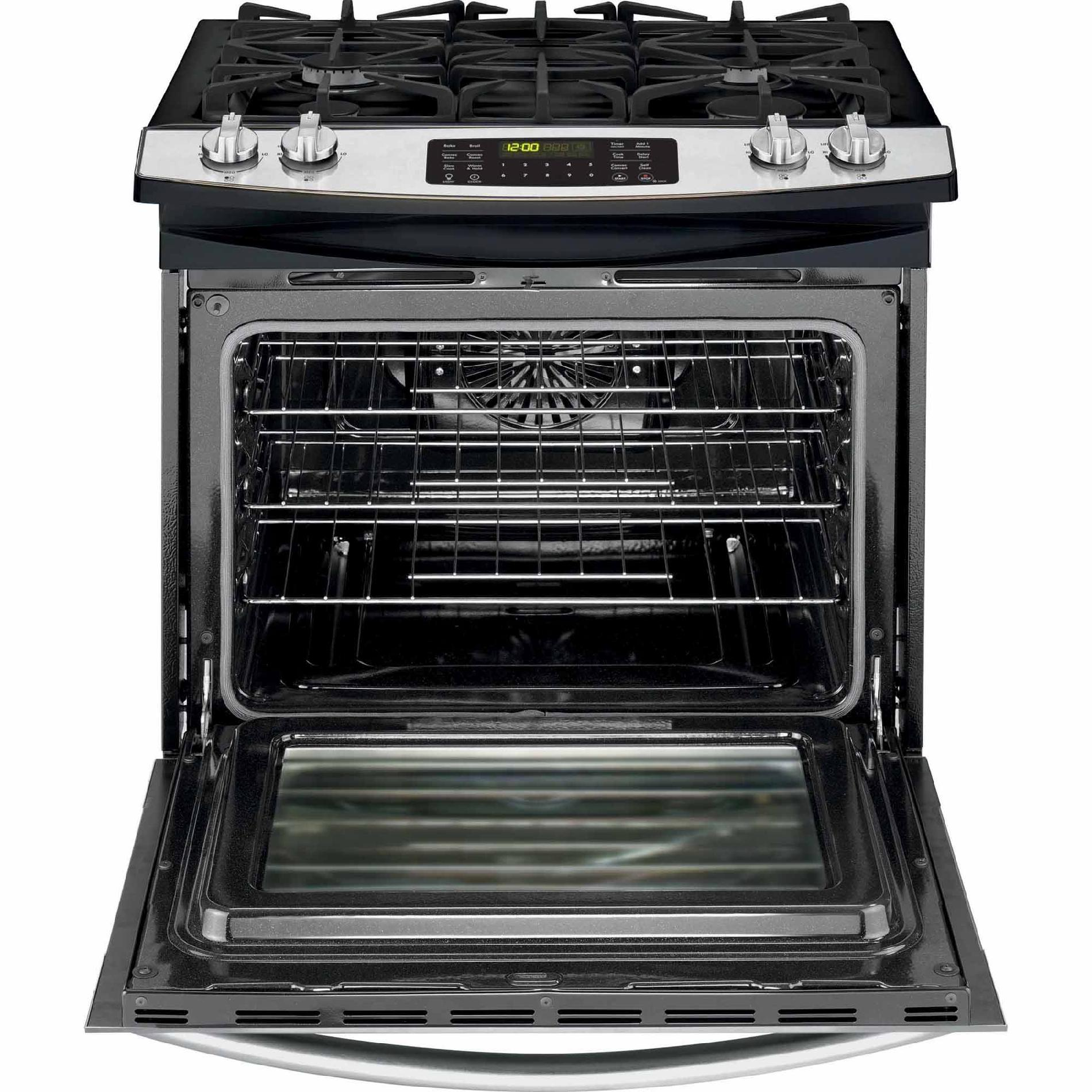 Kenmore 32613 4.5 cu. ft. Slide-In Gas Range w/Convection Cooking - Stainless Steel