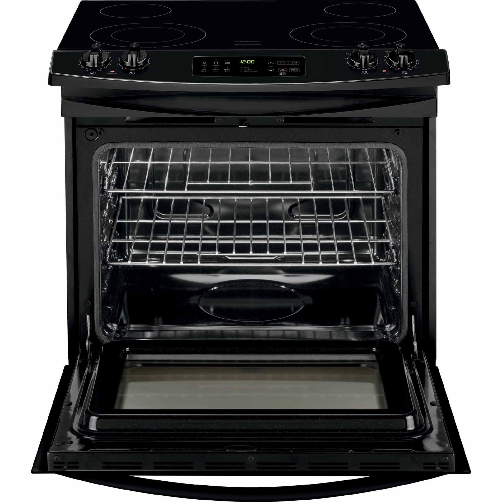 Kenmore 42539 4.6 cu. ft. Slide-In Electric Range w/ Ceramic Smoothtop Cooktop - Black