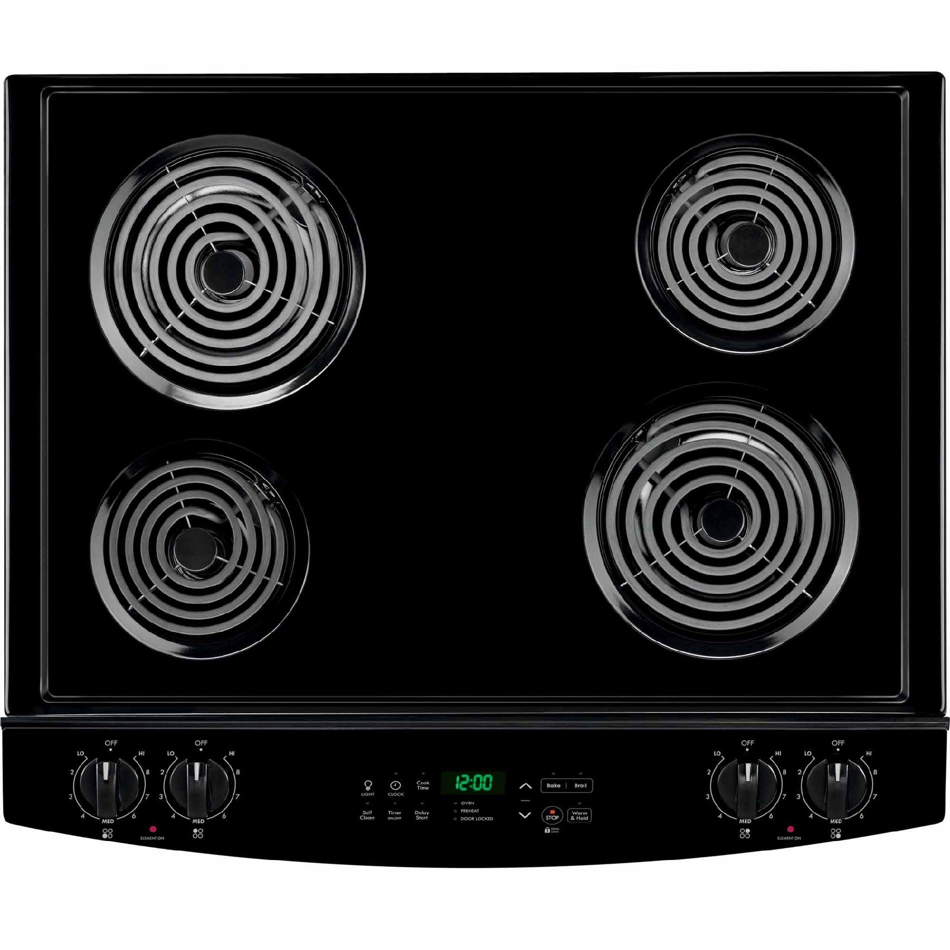 Kenmore 42529 4.6 cu. ft. Self-Clean Slide-In Electric Range w/ Deluxe Coil Elements - Black